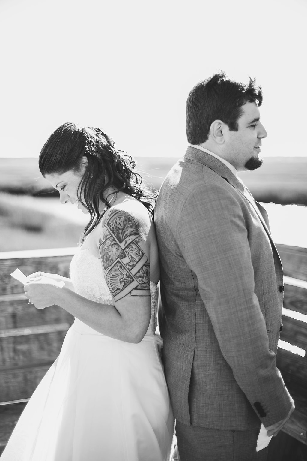 Laura + Matt Featured DIY Wedding // The Overwhelmed Bride Bridal Lifestyle + Wedding Blog // Wedding Vows