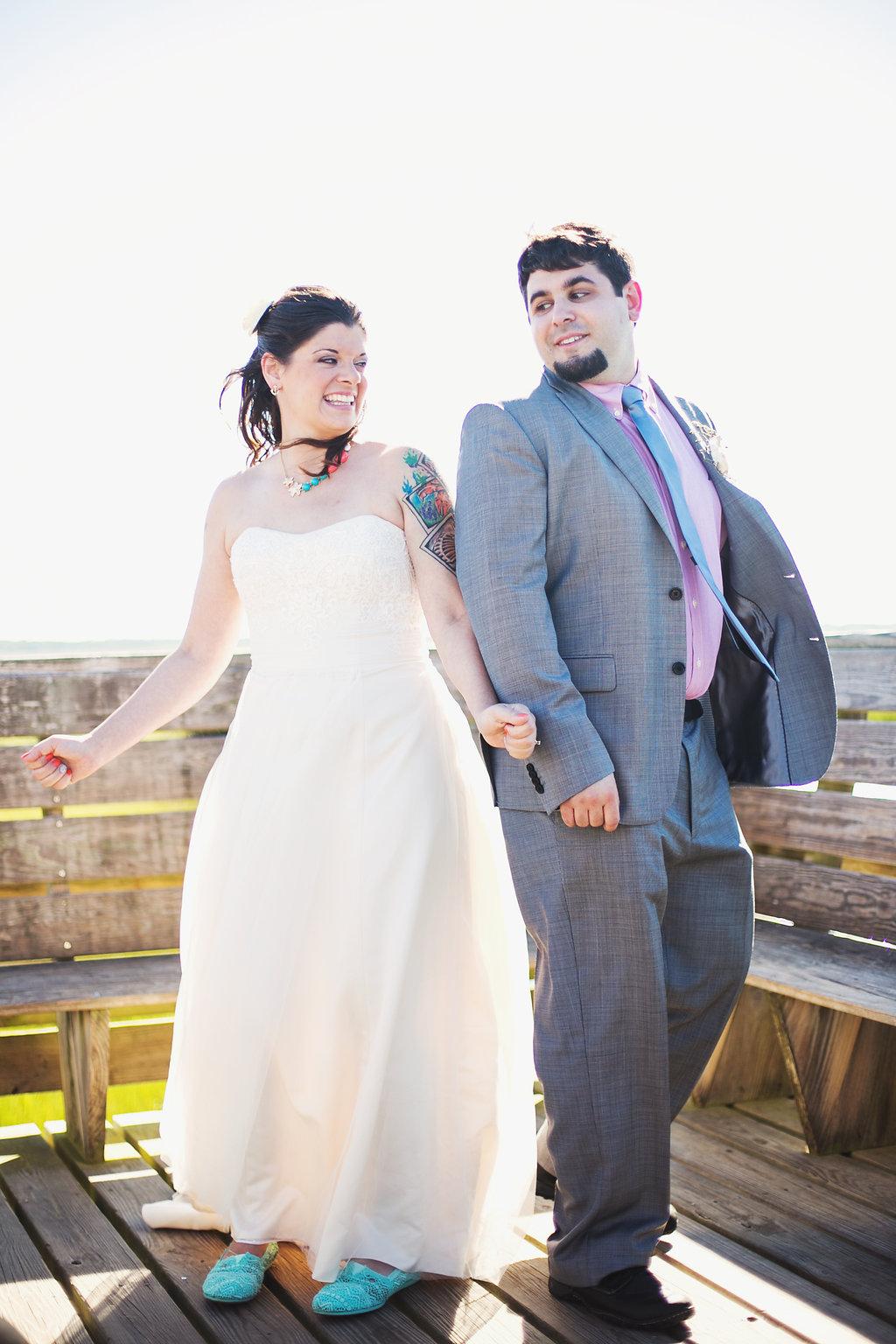 Laura + Matt Featured DIY Wedding // The Overwhelmed Bride Bridal Lifestyle + Wedding Blog // First Look