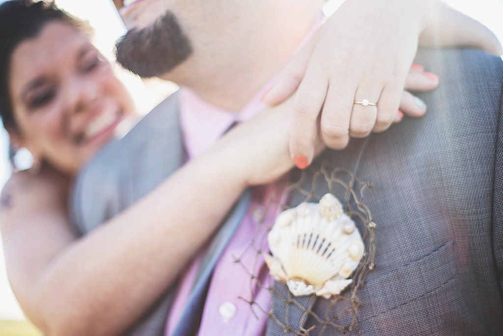 Laura + Matt Featured DIY Wedding // The Overwhelmed Bride Bridal Lifestyle + Wedding Blog // Boutonniere