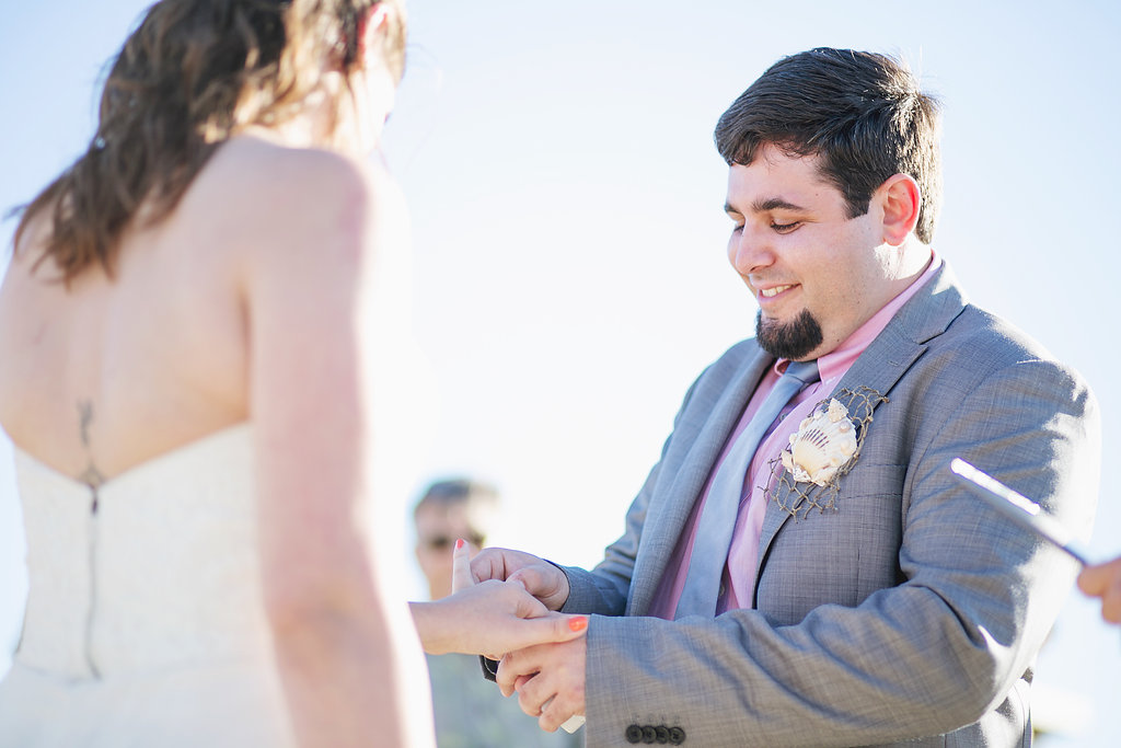 Laura + Matt Featured DIY Wedding // The Overwhelmed Bride Bridal Lifestyle + Wedding Blog // Wedding Ceremony