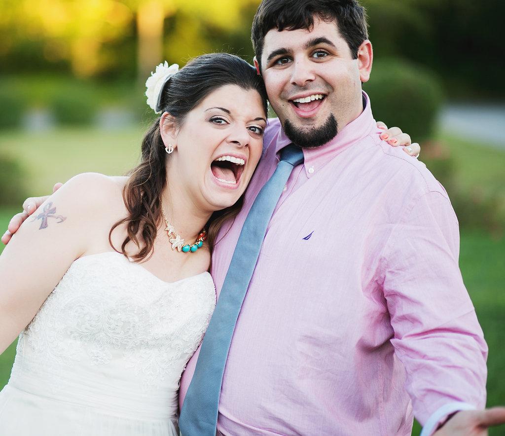 Laura + Matt Featured DIY Wedding // The Overwhelmed Bride Bridal Lifestyle + Wedding Blog // Bride + Groom