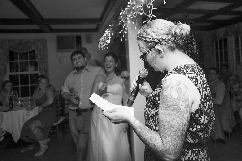Laura + Matt Featured DIY Wedding // The Overwhelmed Bride Bridal Lifestyle + Wedding Blog // Wedding Toast
