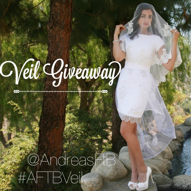 Bridal Veil Giveaway - Andrea's for the Bride // The Overwhelmed Bride Wedding Blog + Southern California Wedding Planner
