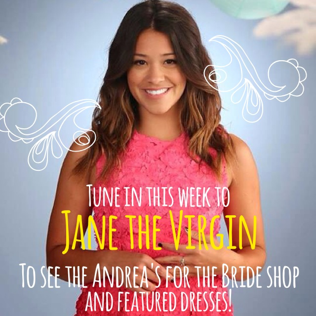 Jane the Virgin - Andrea's for the Bride // The Overwhelmed Bride Wedding Blog + Southern California Wedding Planner