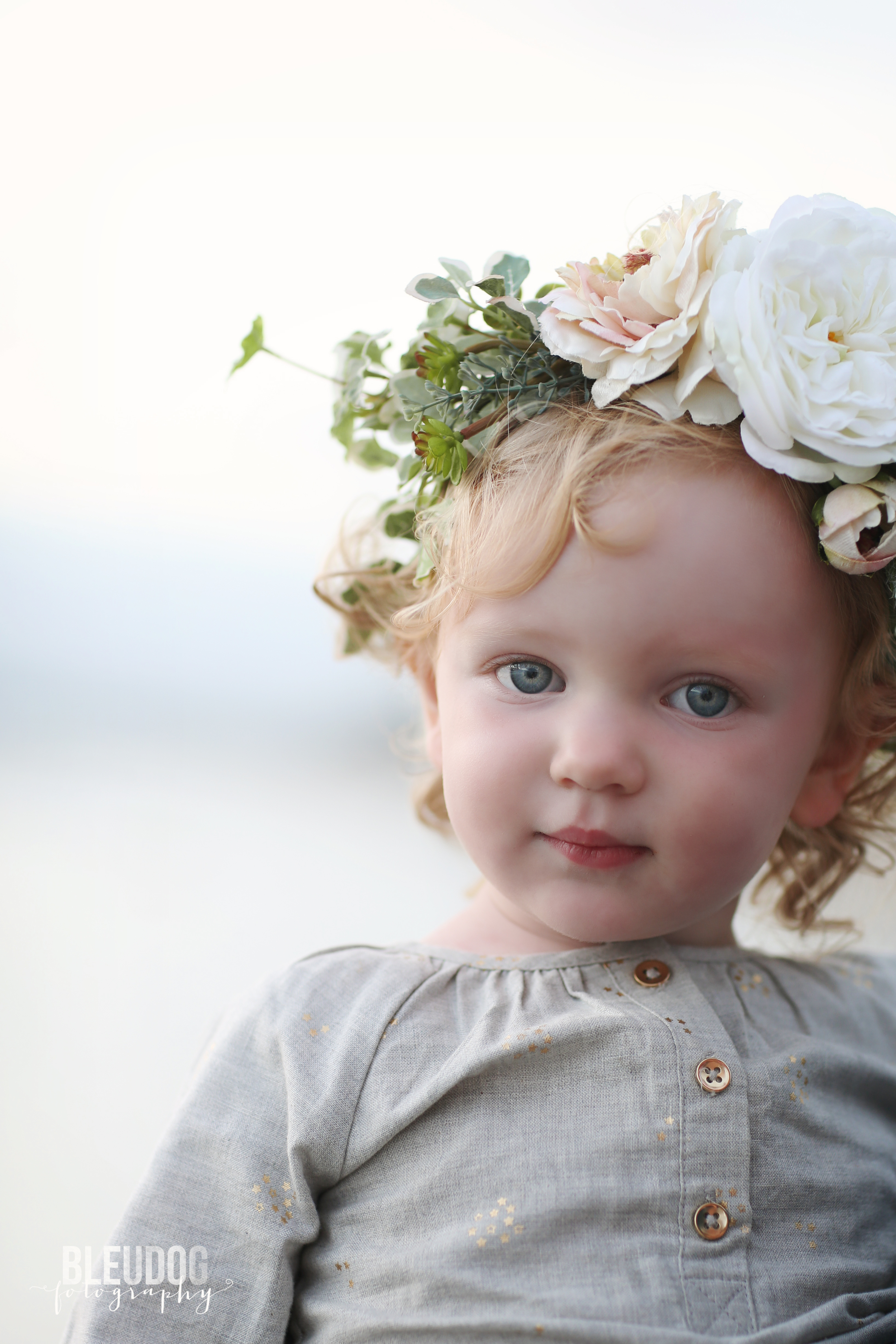 Silk Flower Crowns by Bleubelle Floral // The Overwhlemed Bride Bridal Boutique