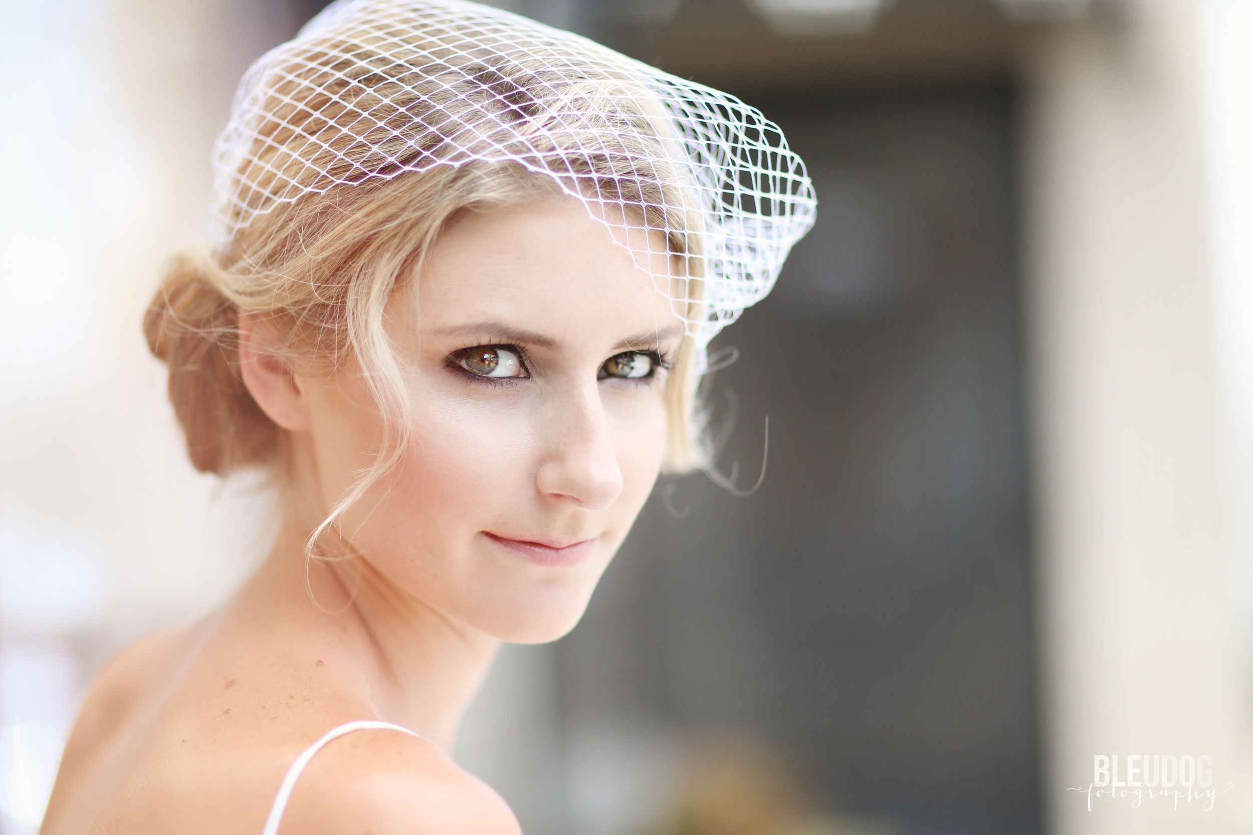 Swell Beauty Bird Cage Veil // The Overwhelmed Bride Bridal Boutique