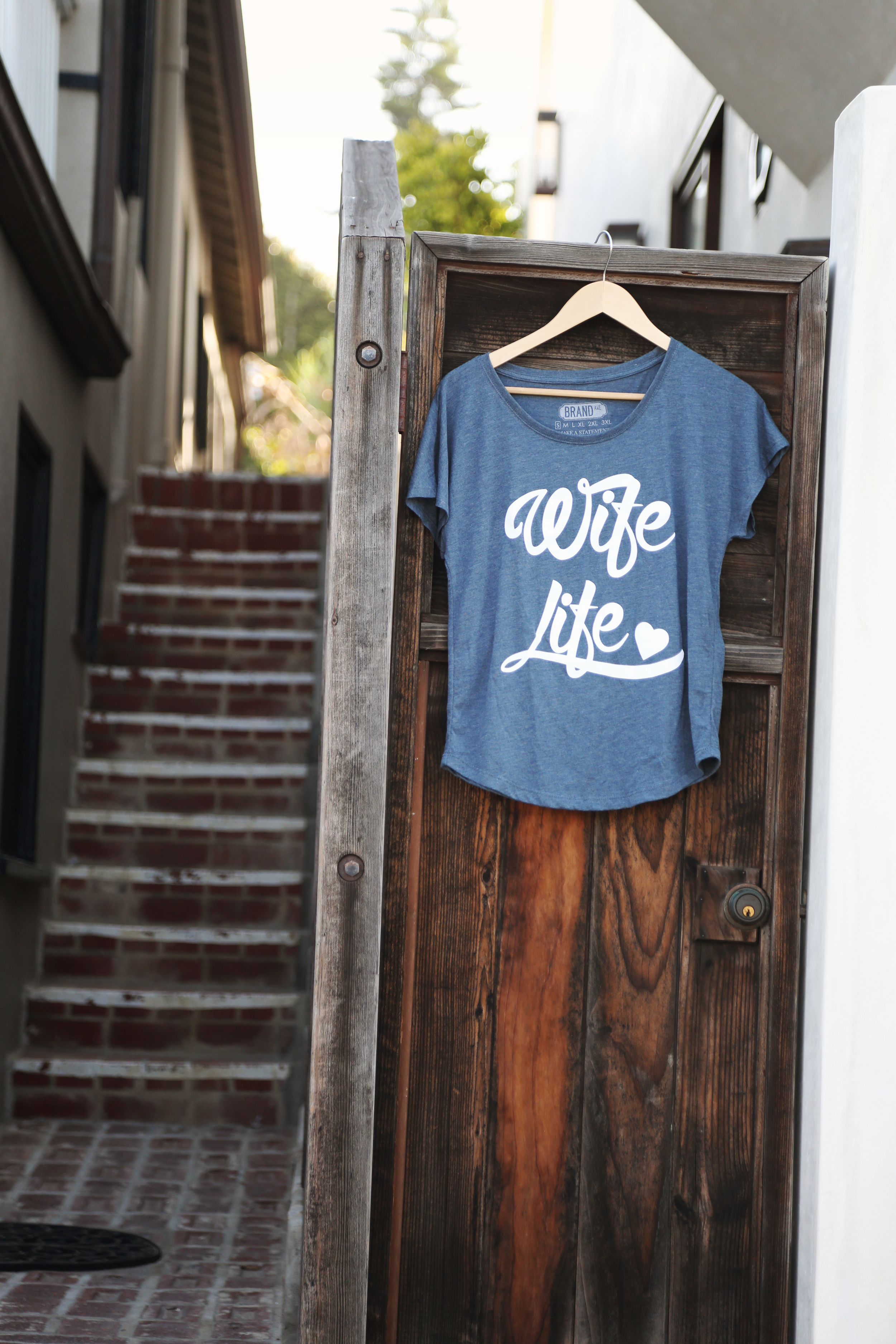 Bridal Apparel // Wife Life Tee from Brand Ave