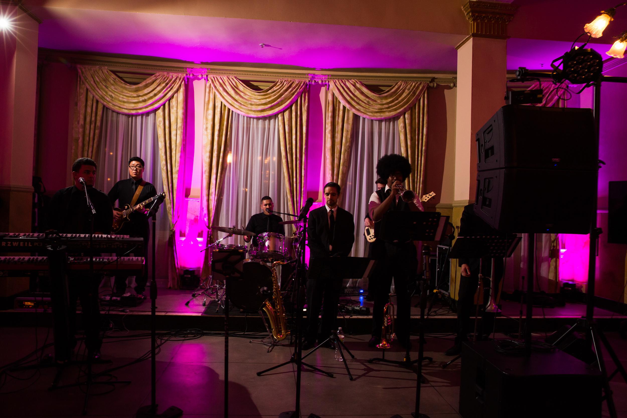 Pasadena Wedding at Castle Green // Wedding Band