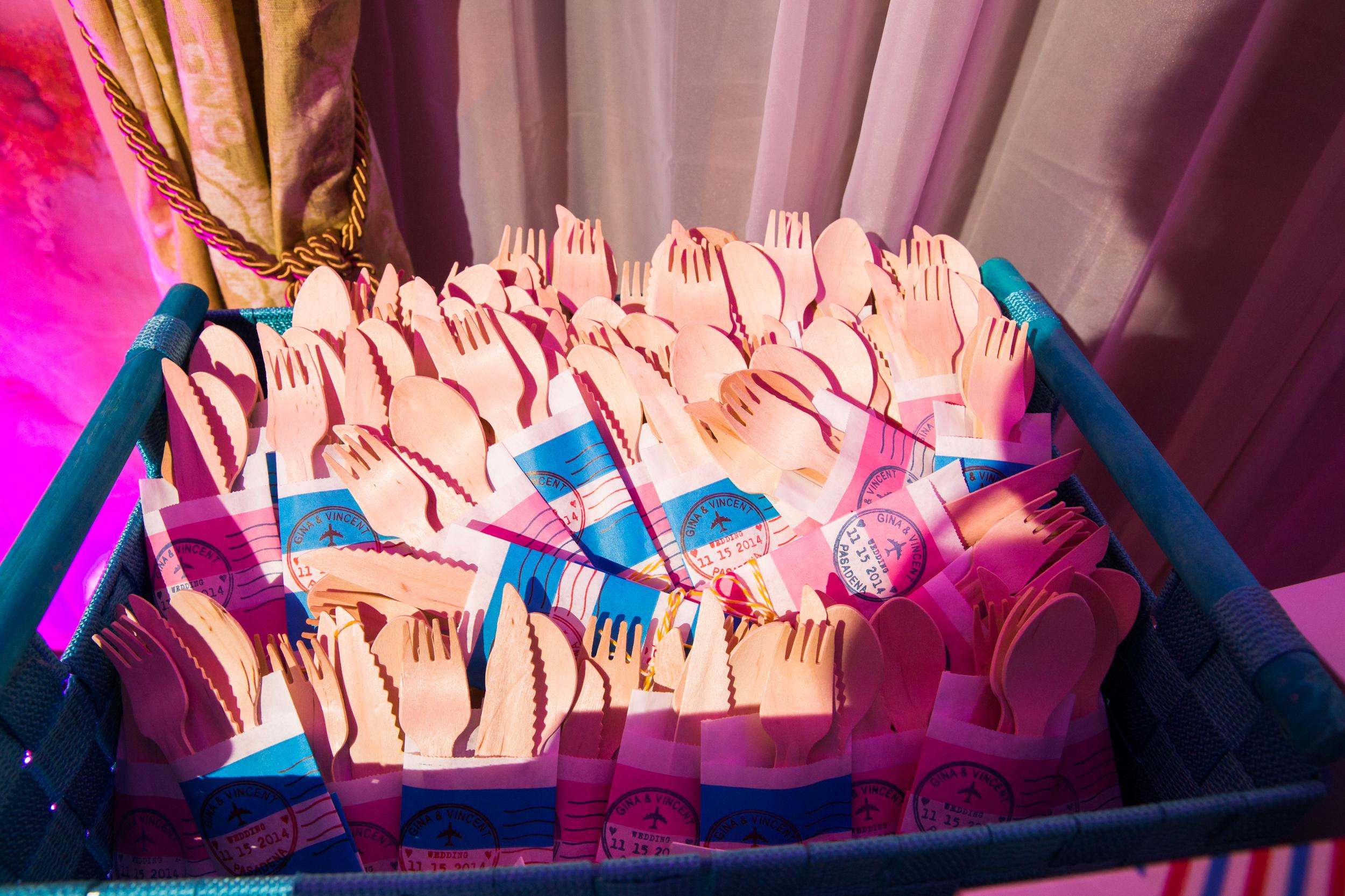 Pasadena Wedding at Castle Green // Dessert Buffet