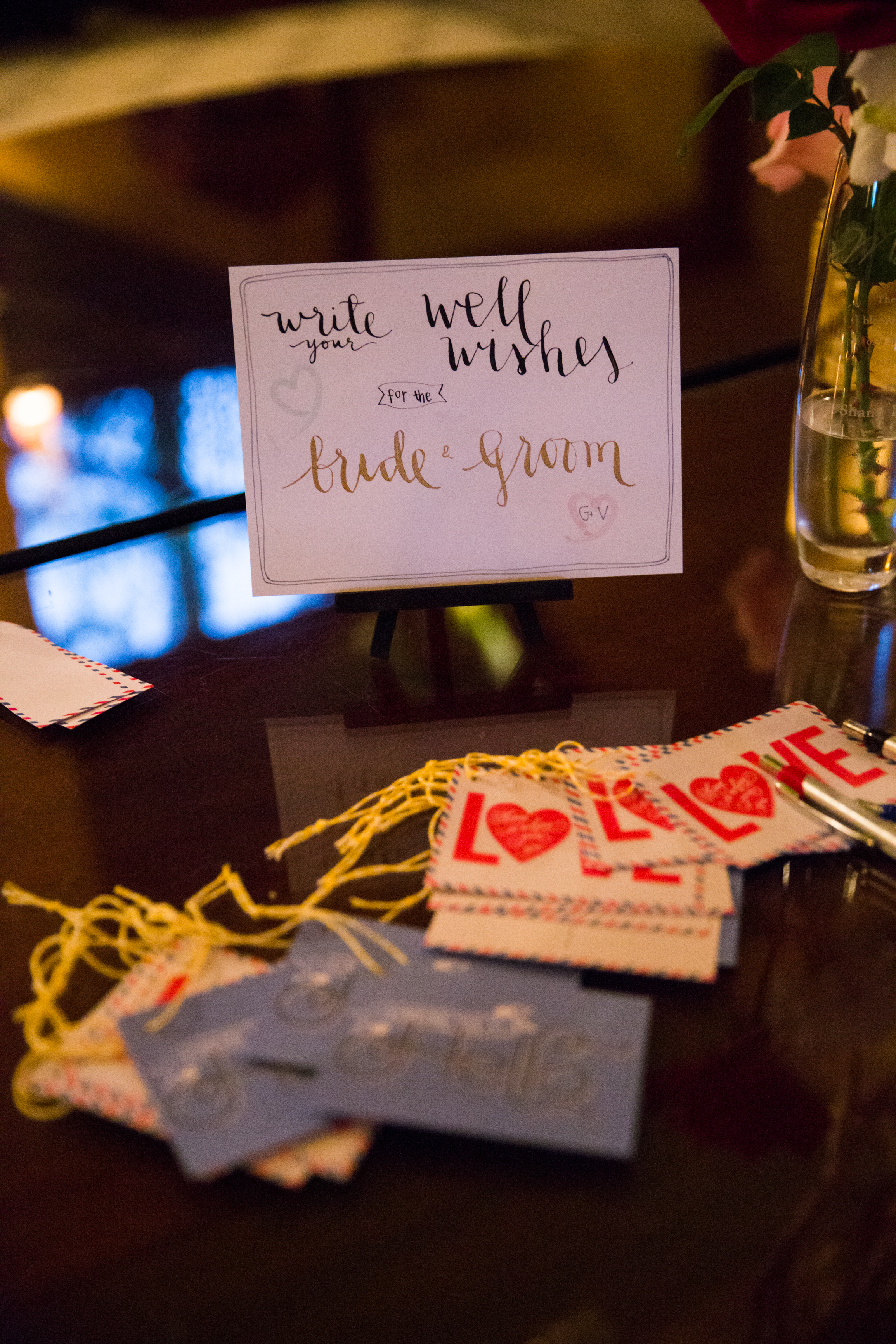 Pasadena Wedding at Castle Green // Wishing Tree Guest Book