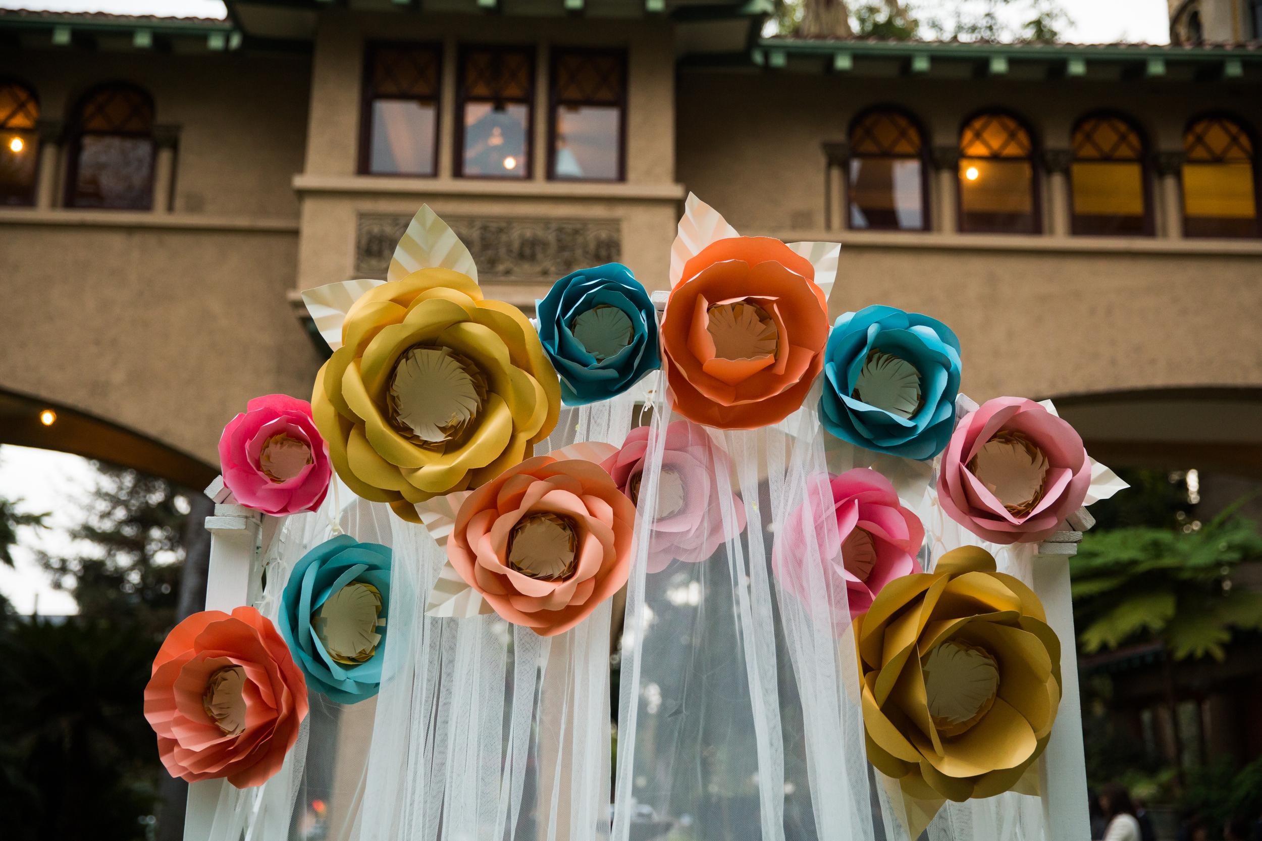 Pasadena Wedding at Castle Green // Ceremony Decor