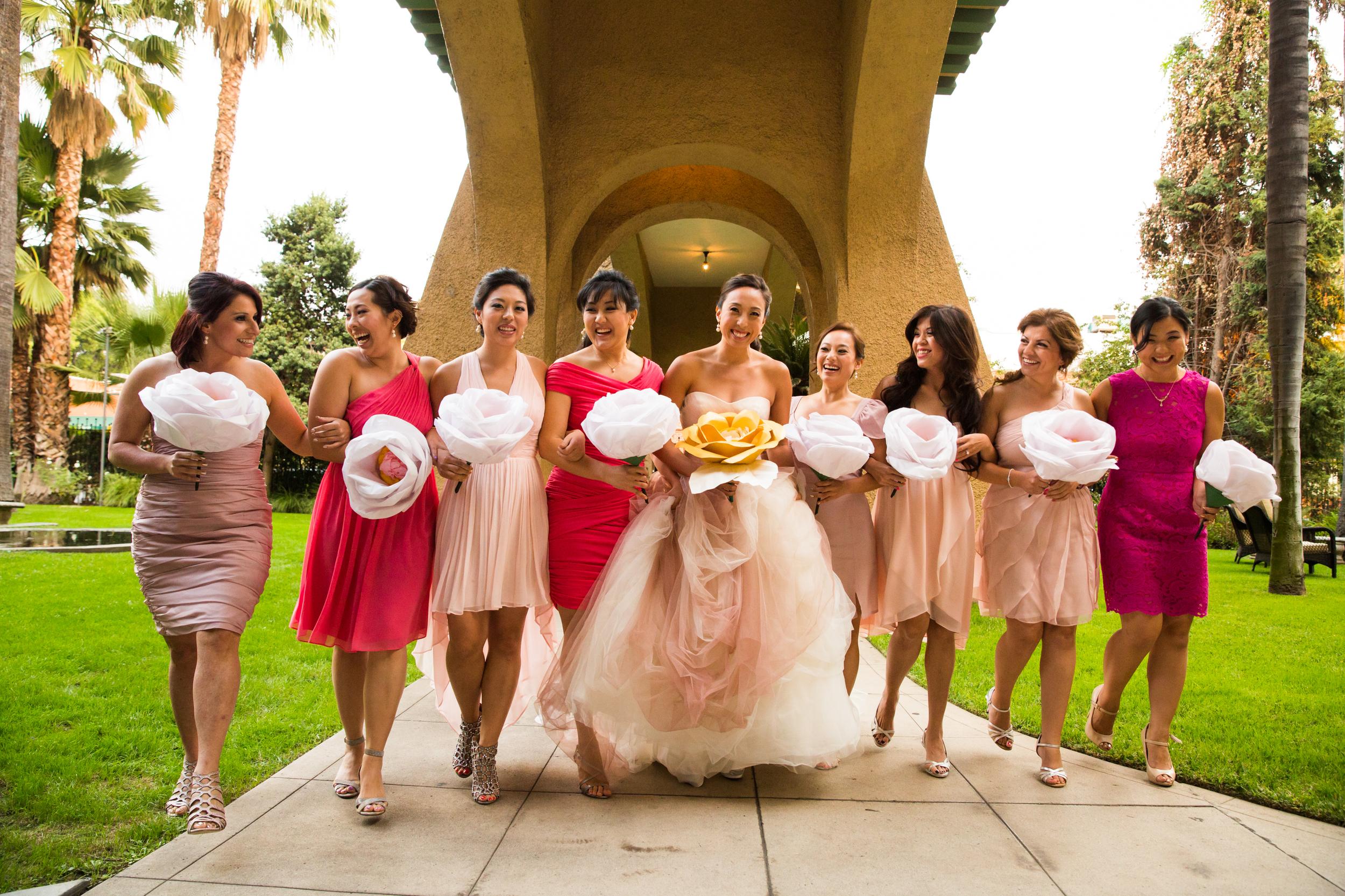 Pasadena Wedding at Castle Green // Bridal Party