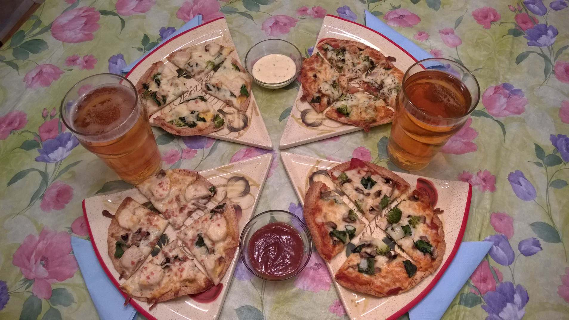 Homemade Healthy Pizza Recipe