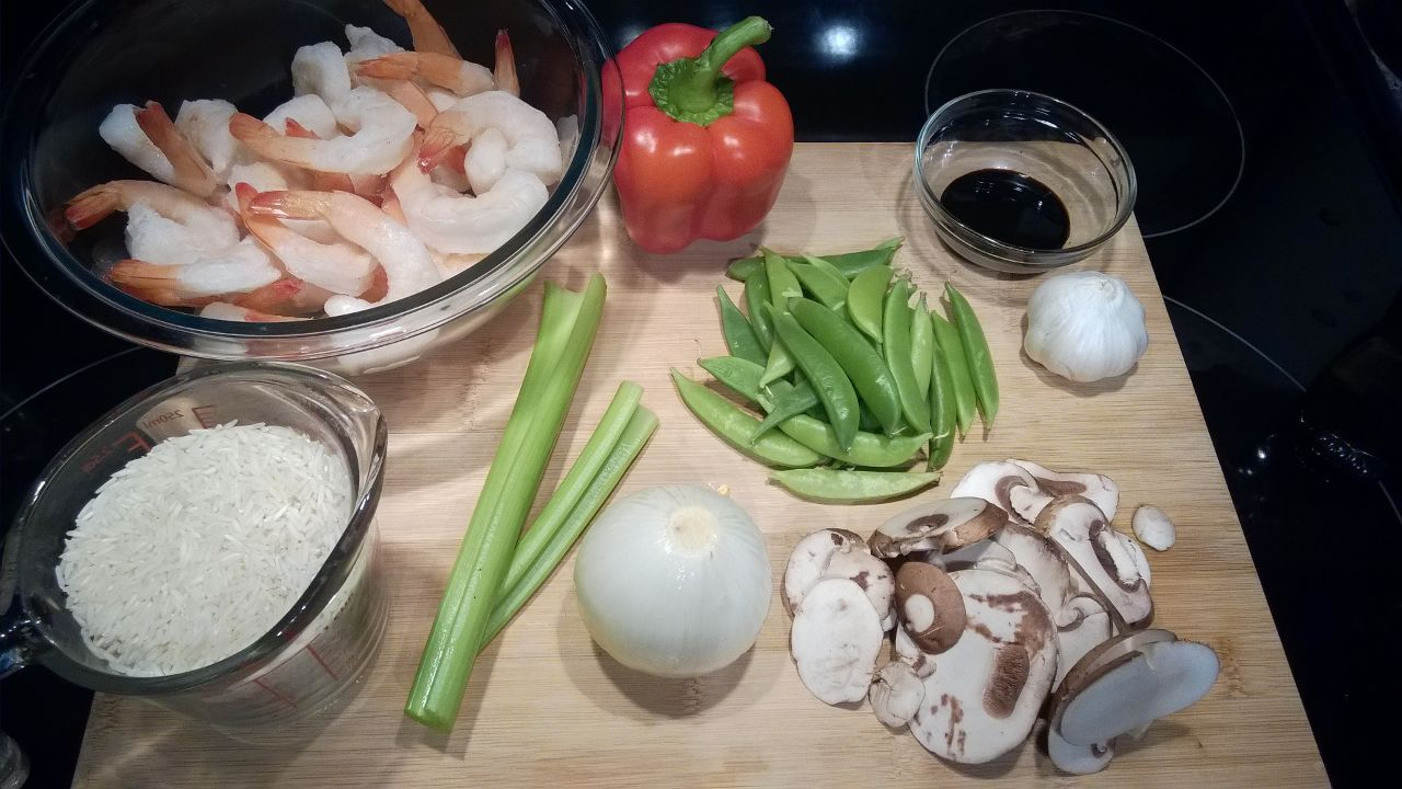 Seafood Stir Fry Recipe