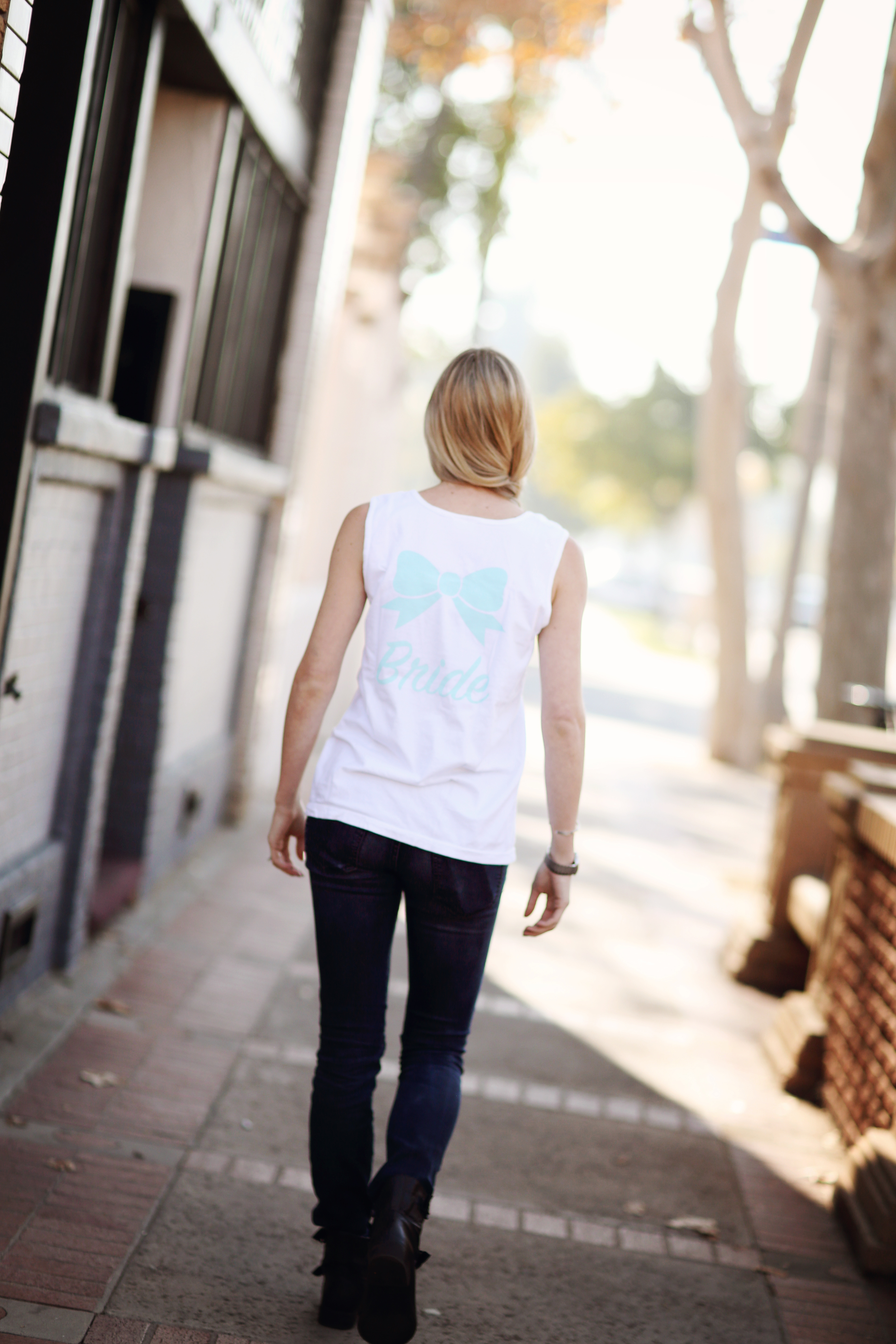 Bride Tank by Kiss My Southern Sass