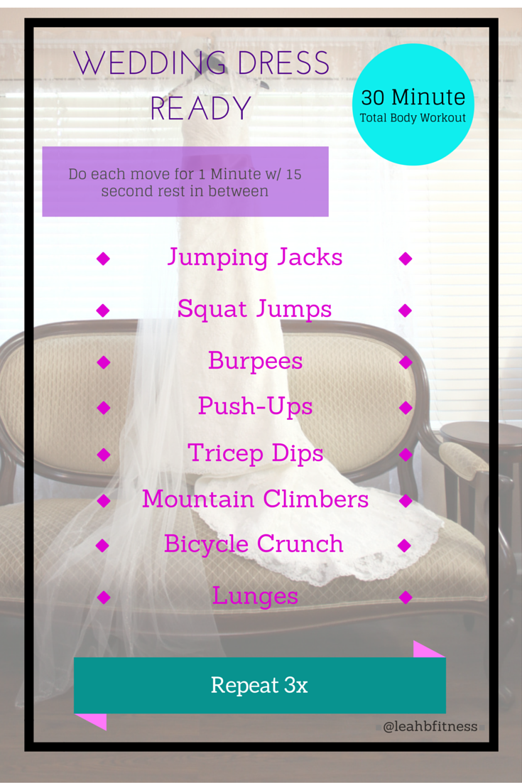 workout for a bride to be