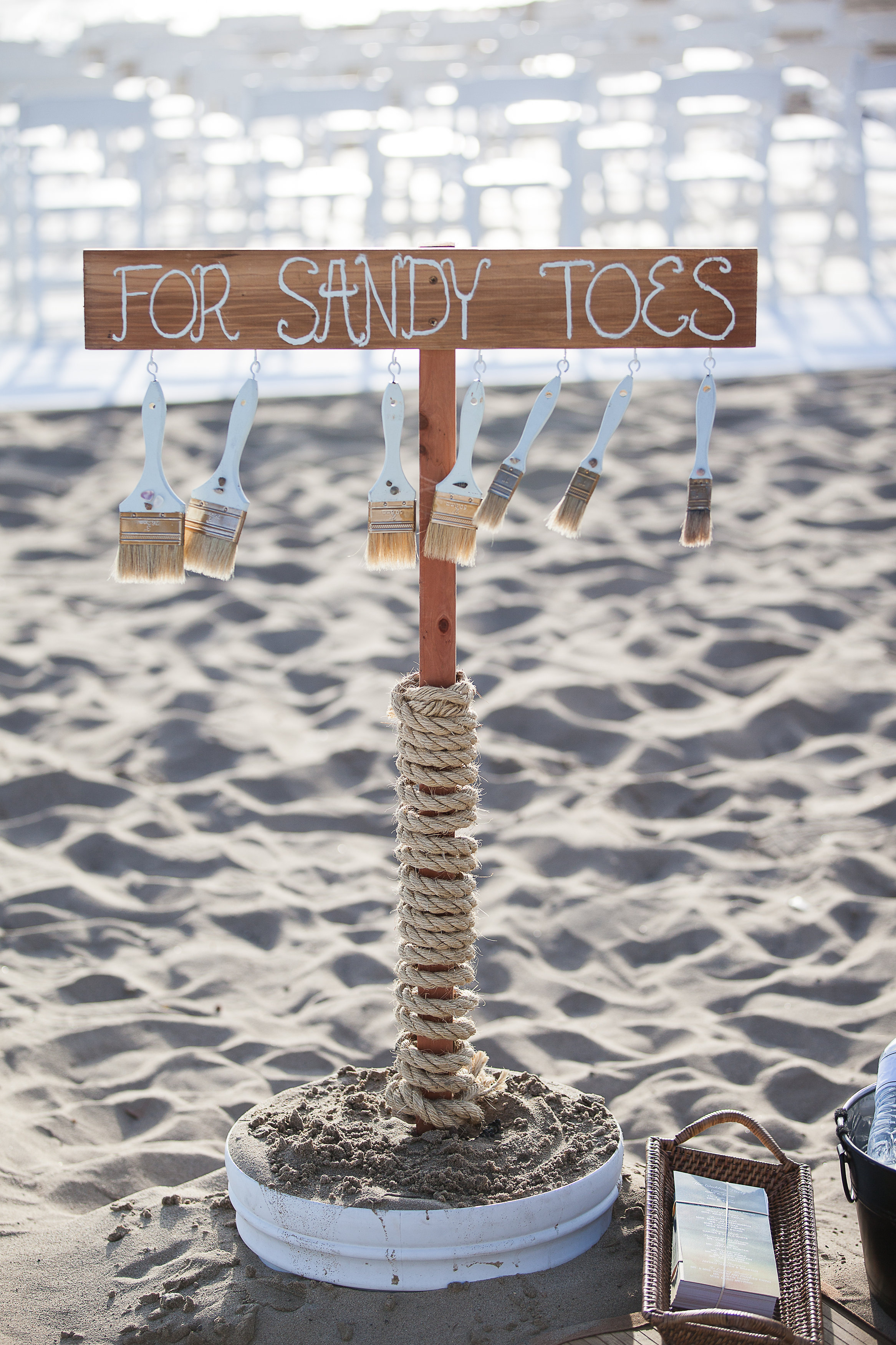 for sandy toes - beach ceremony