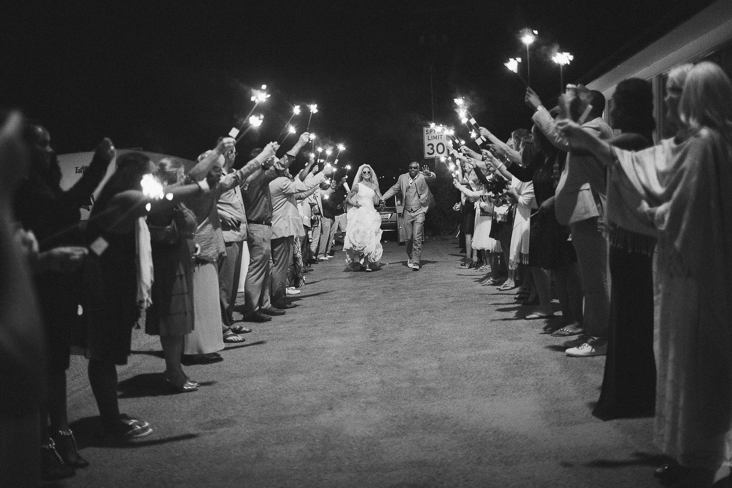the sparkler exit