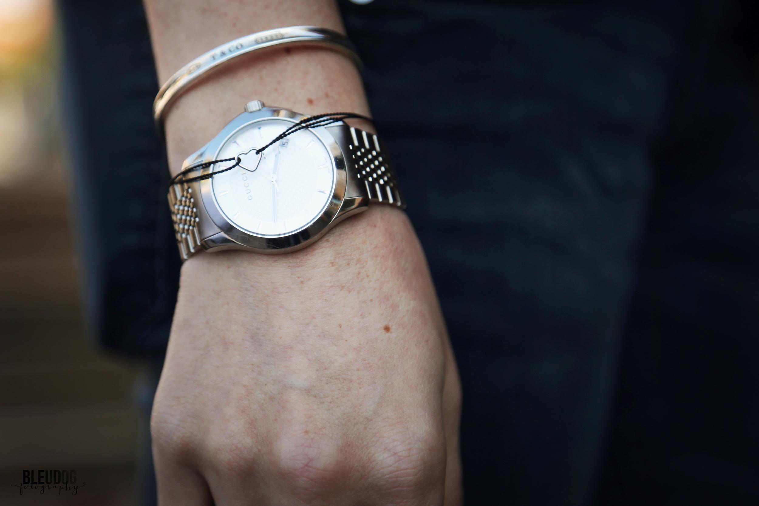 heart bracelet by mrs. why knot