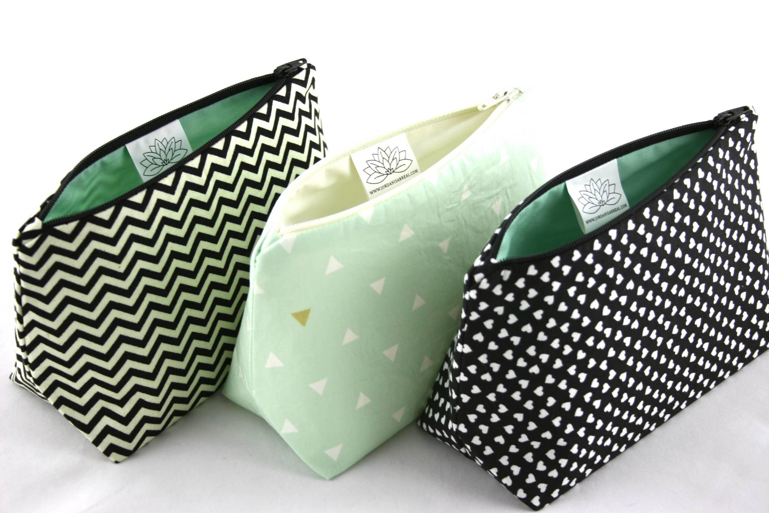 Black & Mint Green Coordinate Bags - Le Pique Nique by Jordani Sarreal 02.jpg