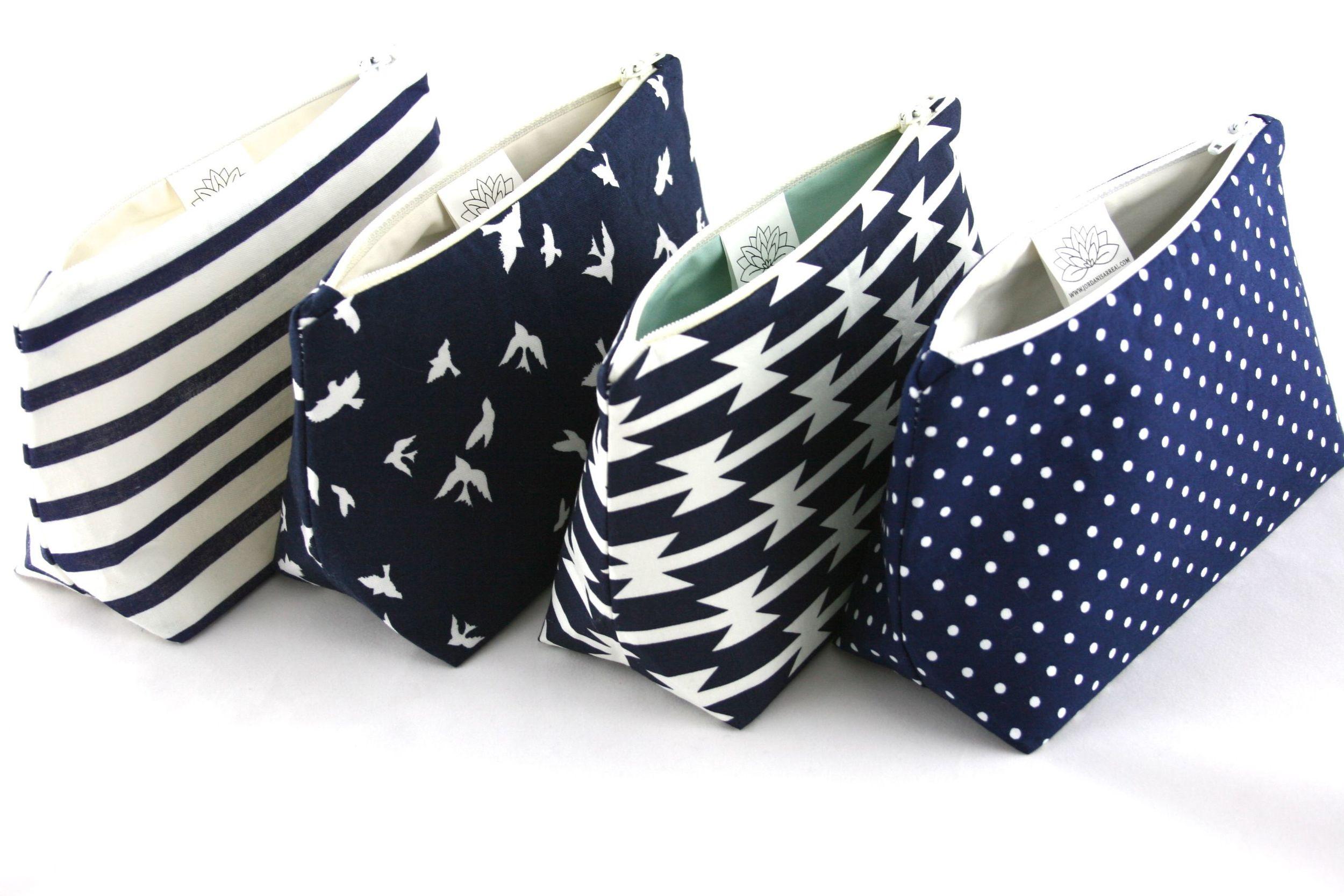 Navy Cosmetic Bags - Le Pique Nique by Jordani Sarreal 06.jpg