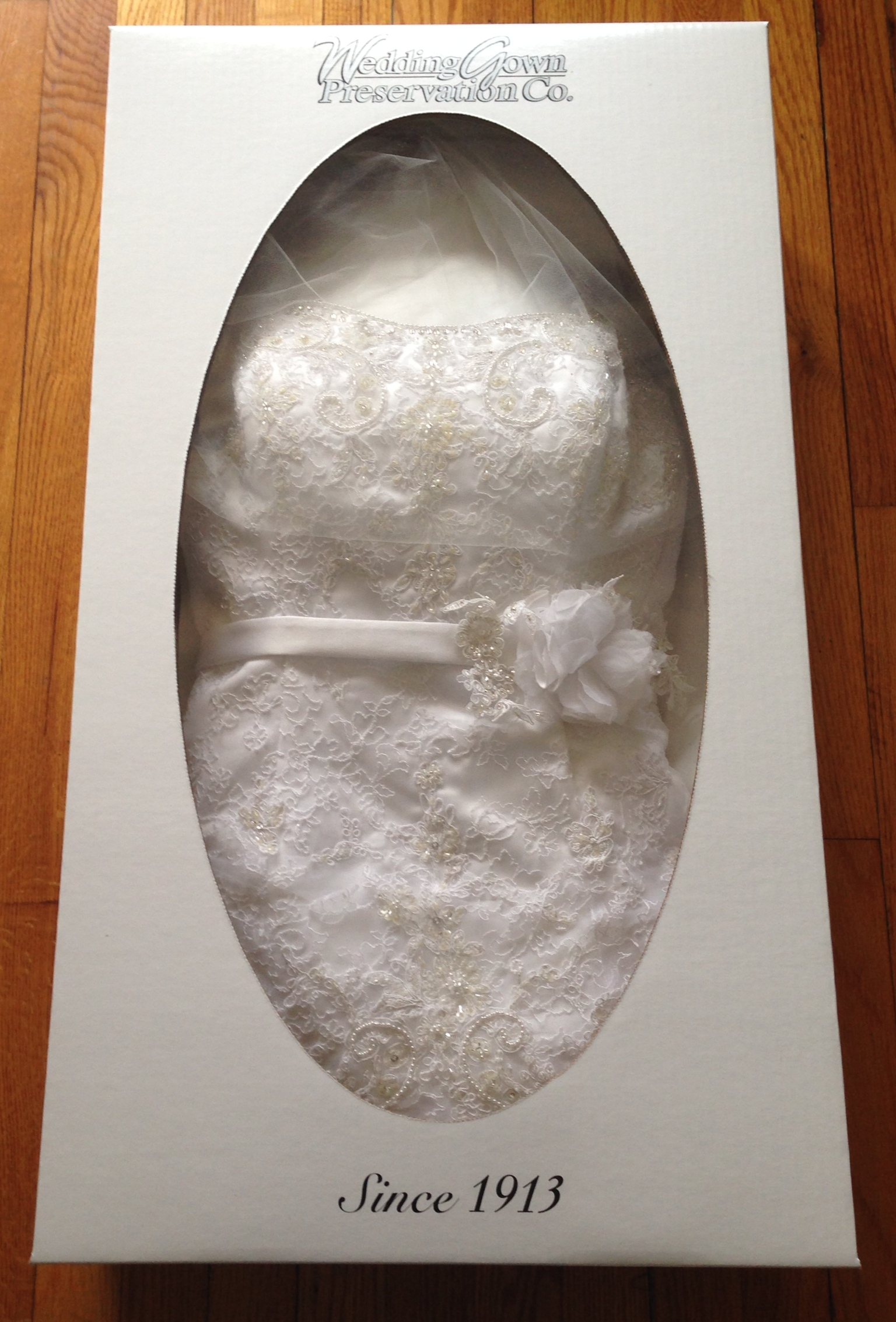 wedding dress preservation