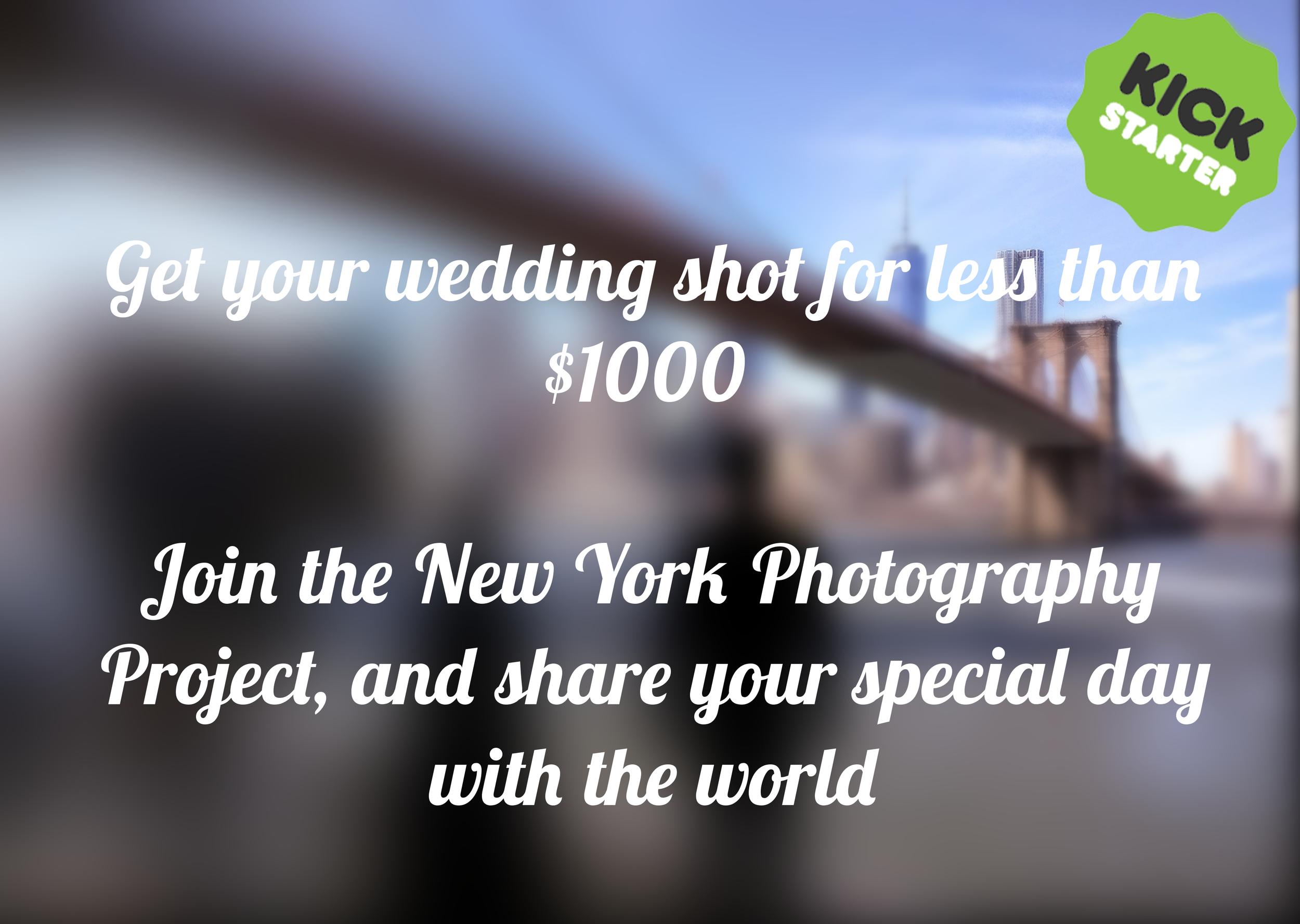 wedding photographer discount deals