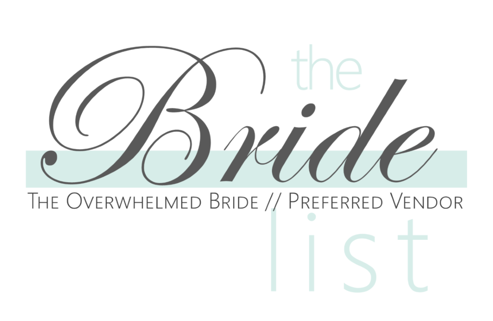 The Bride List Search Wedding Vendors // The Overwhelmed Bride Wedding Blog