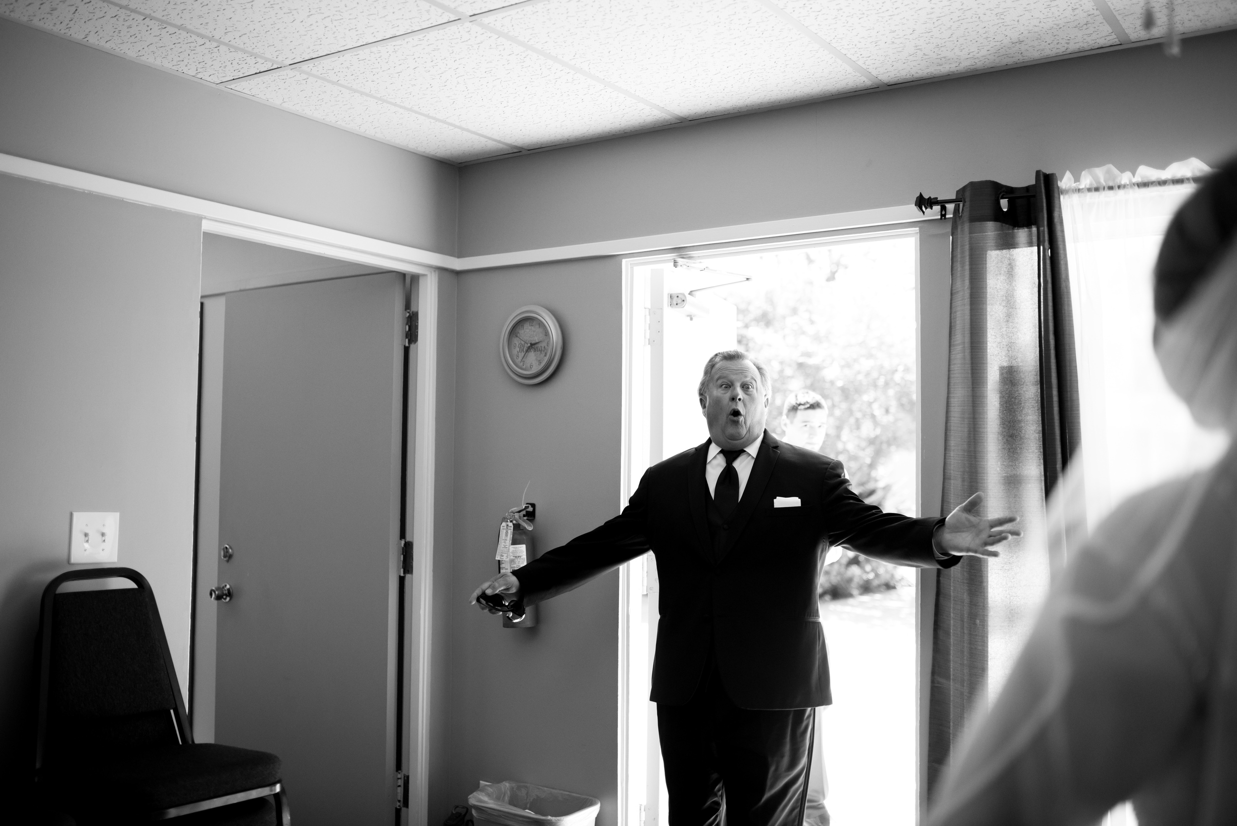 first look // long beach wedding photography