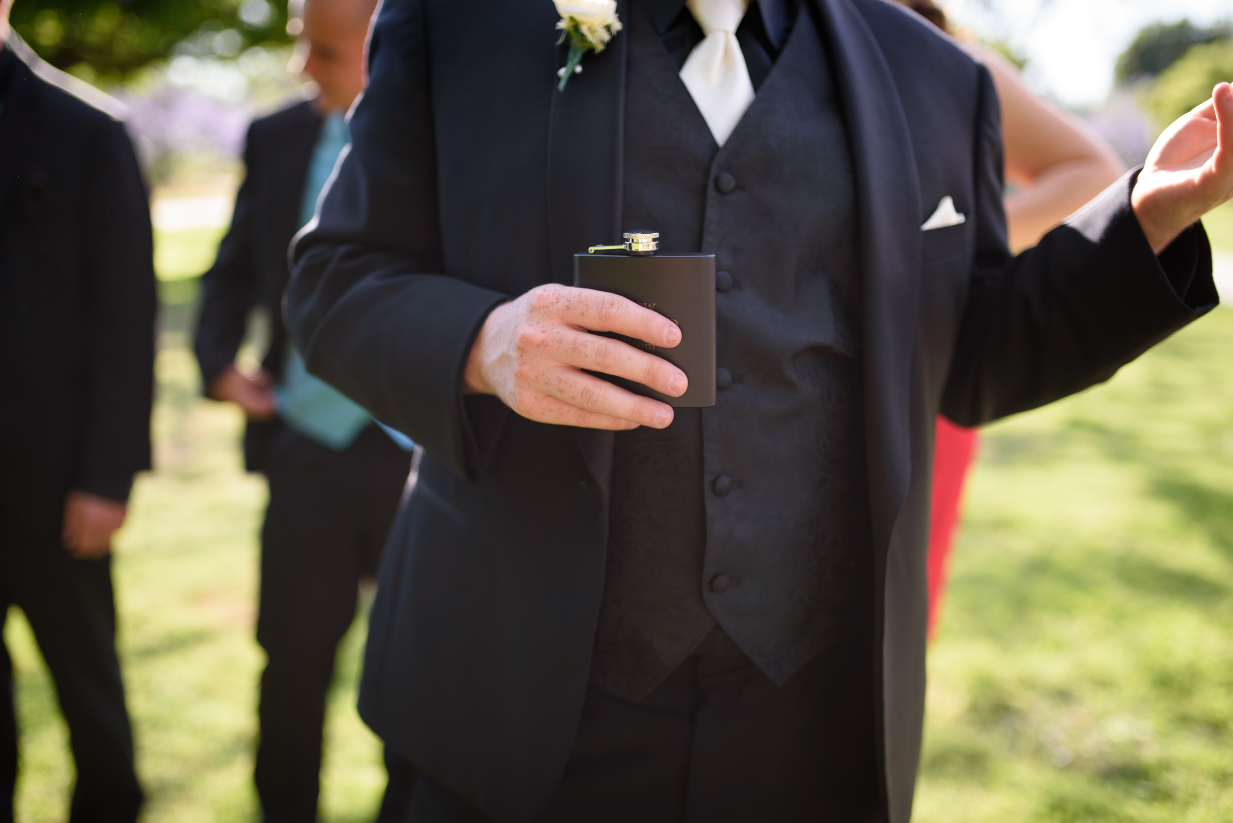 groom attire // long beach wedding photography