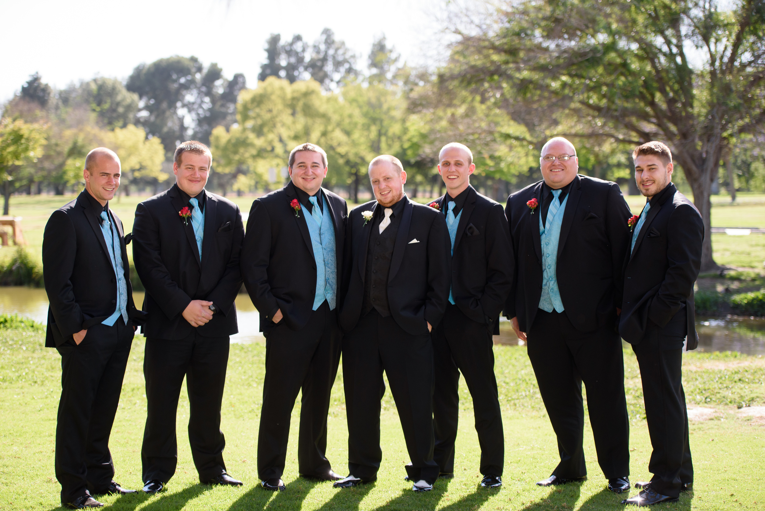 groomsman attire //long beach wedding photography