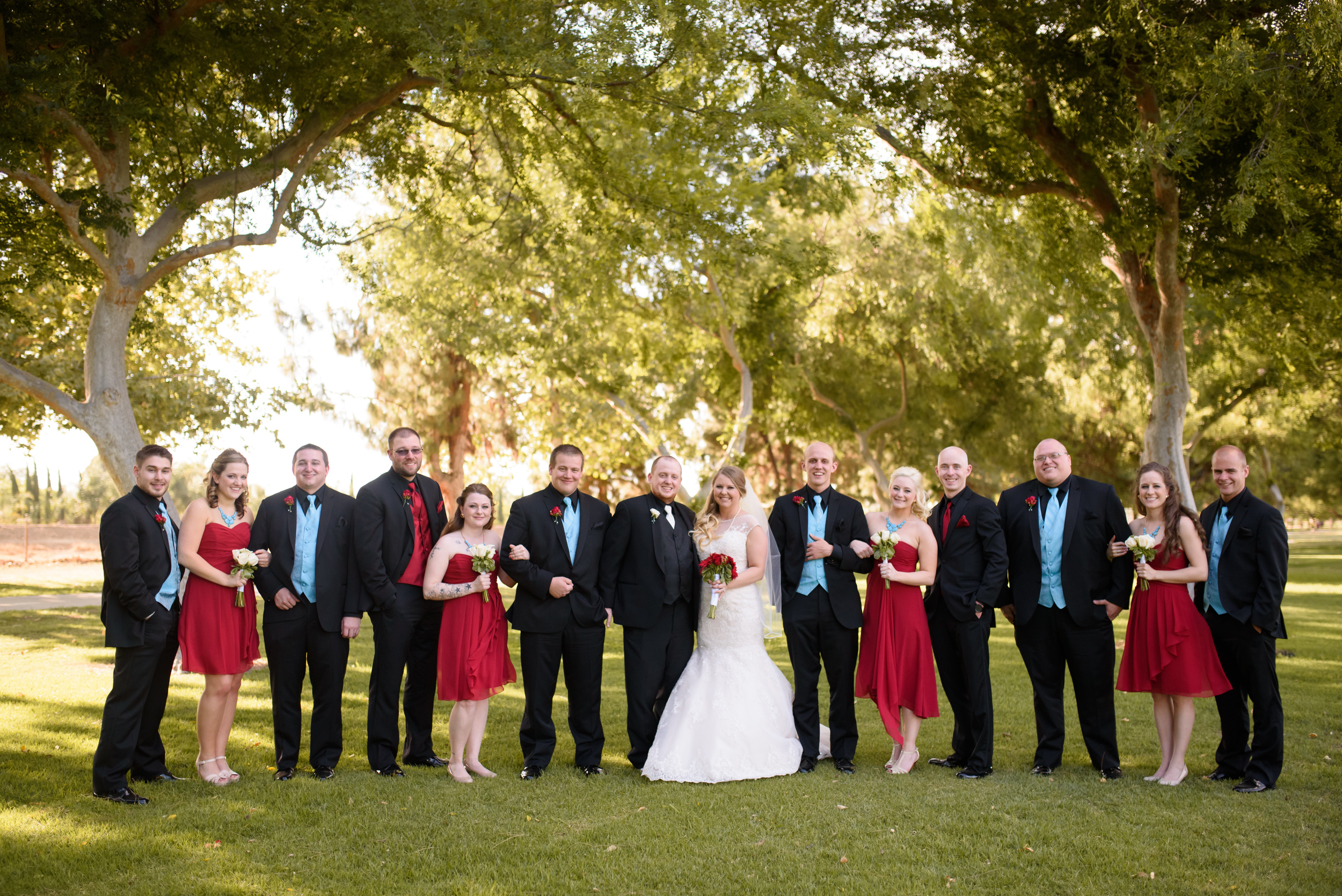 wedding party photos // long beach wedding photography