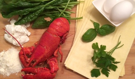 basil lobster pesto recipe
