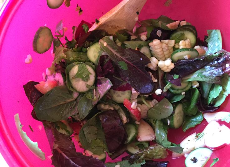 healthy barbeque salad recipe