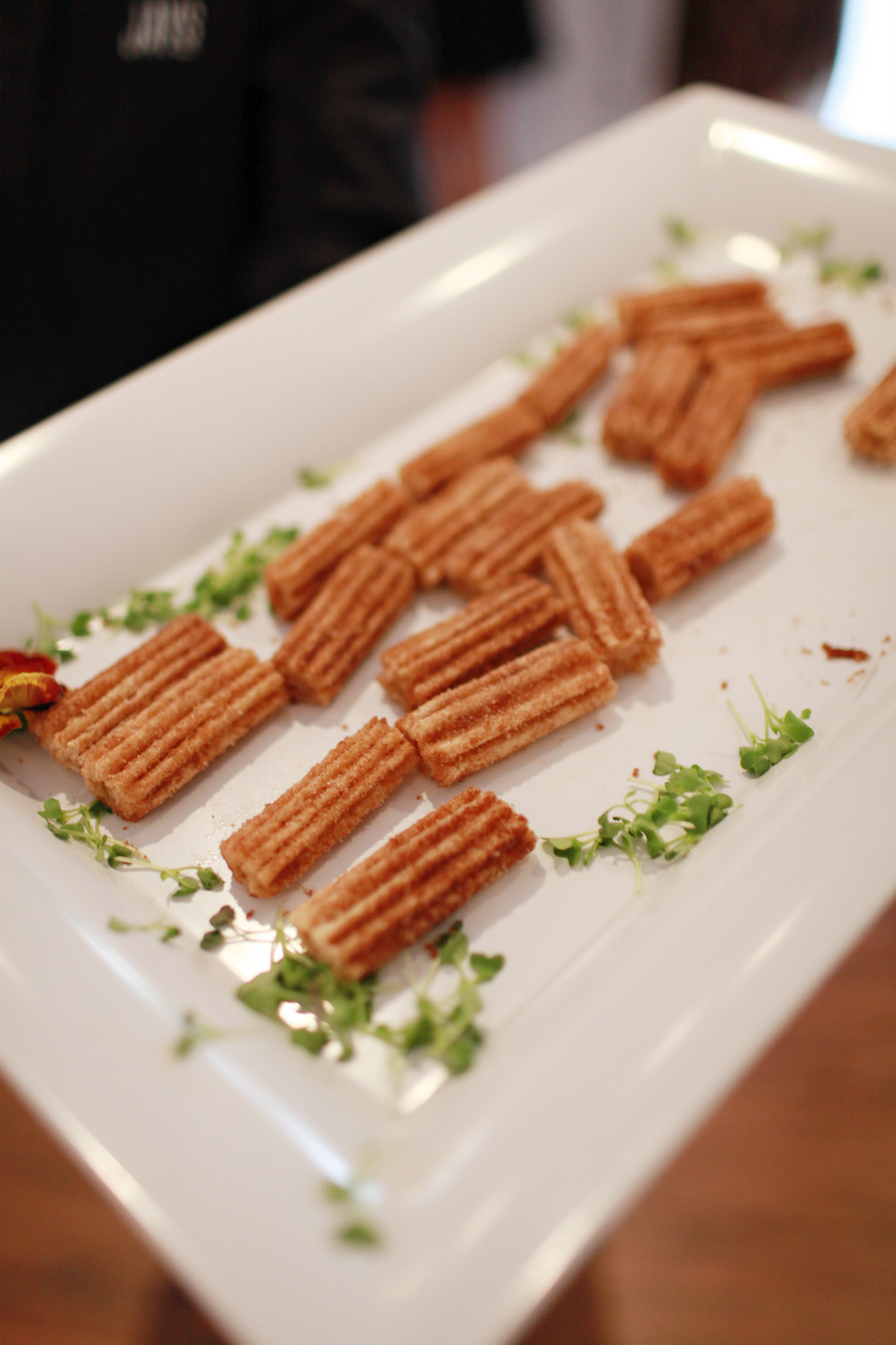 wedding appetizer ideas churros