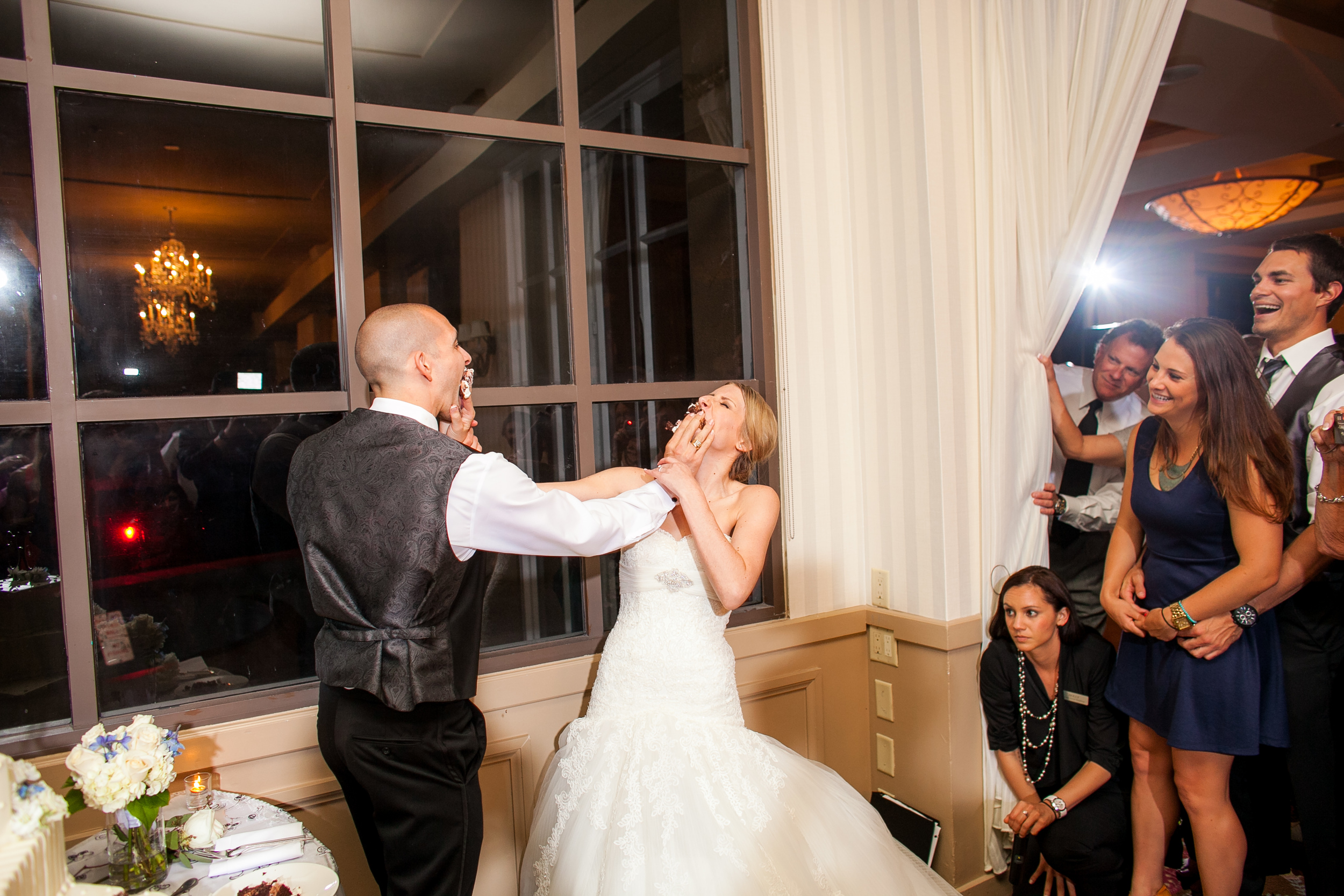 cake smash wedding for charity
