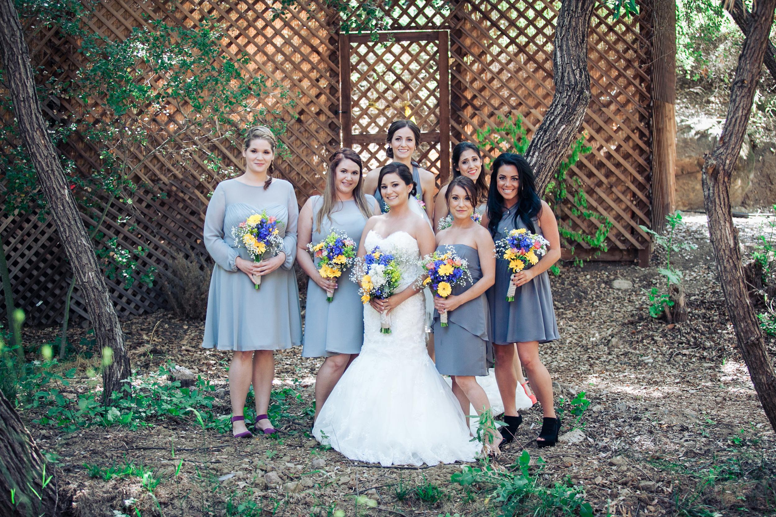 rustic grey bridesmaid dresses