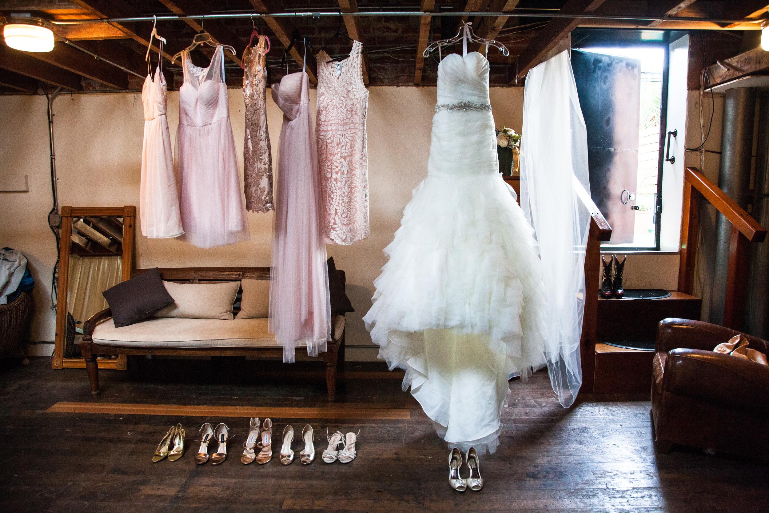 vintage inspired bridesmaid wedding dresses