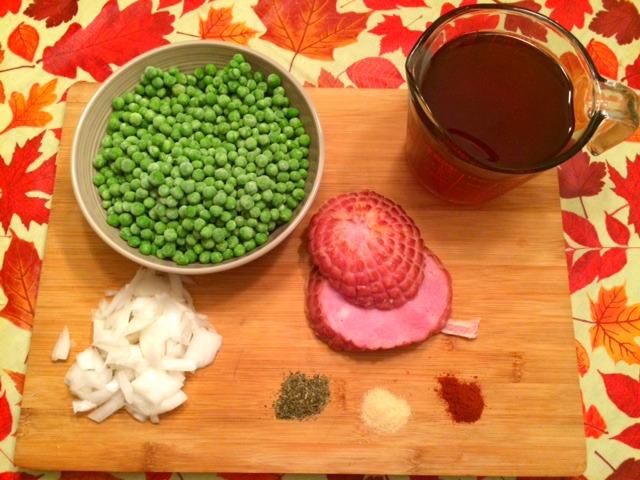ham and pea soup recipe // date night ideas