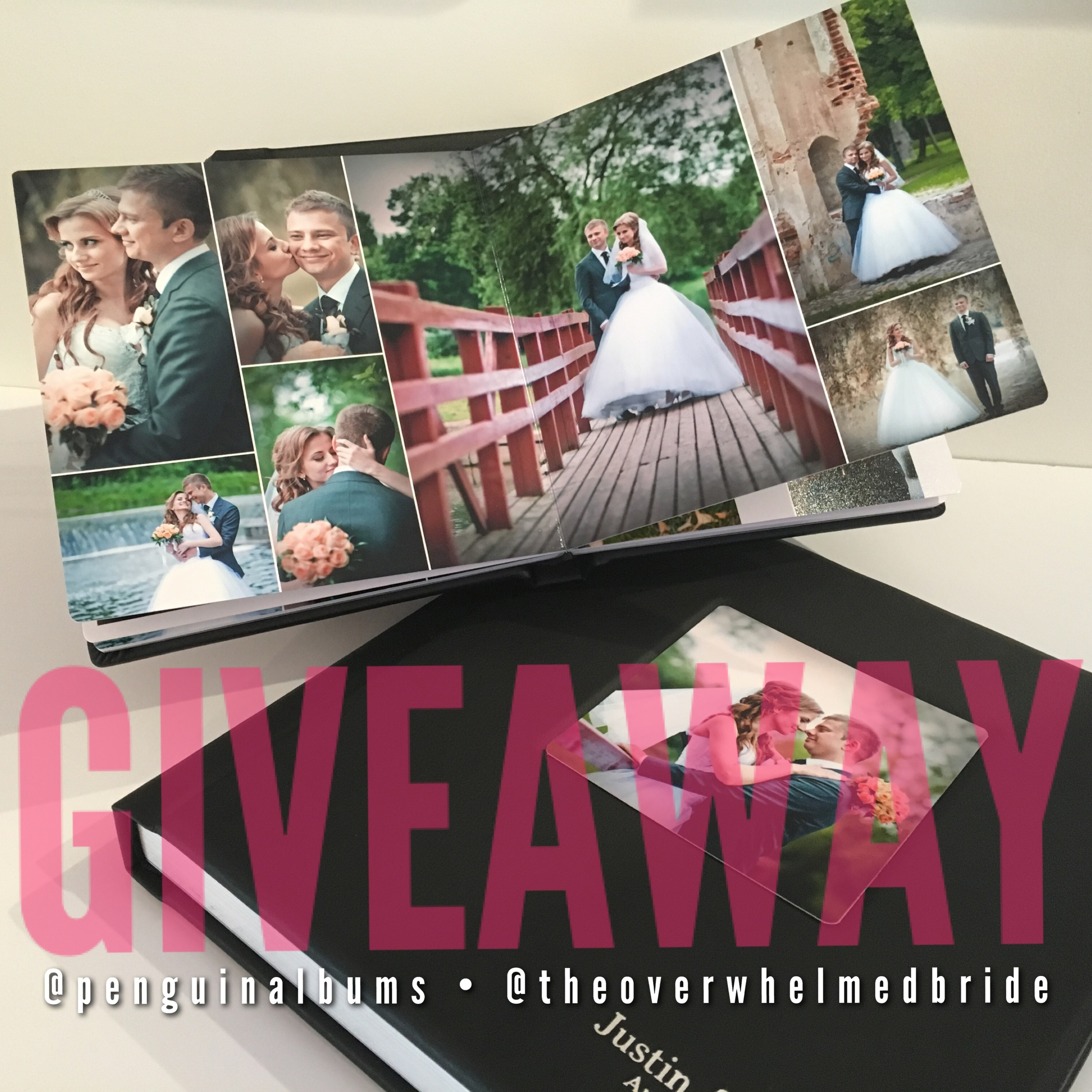 wedding album giveaway