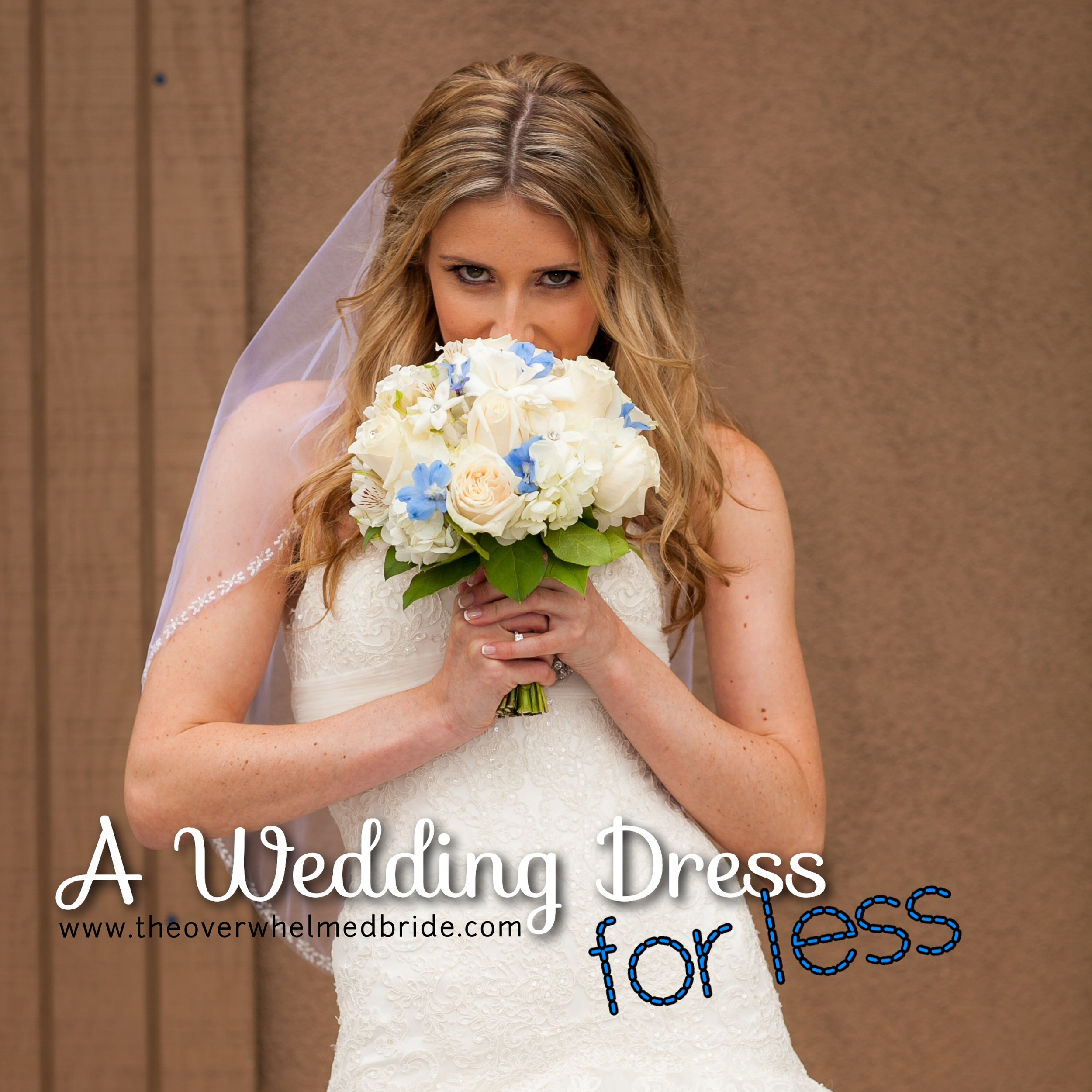 inexpensive wedding dress tips