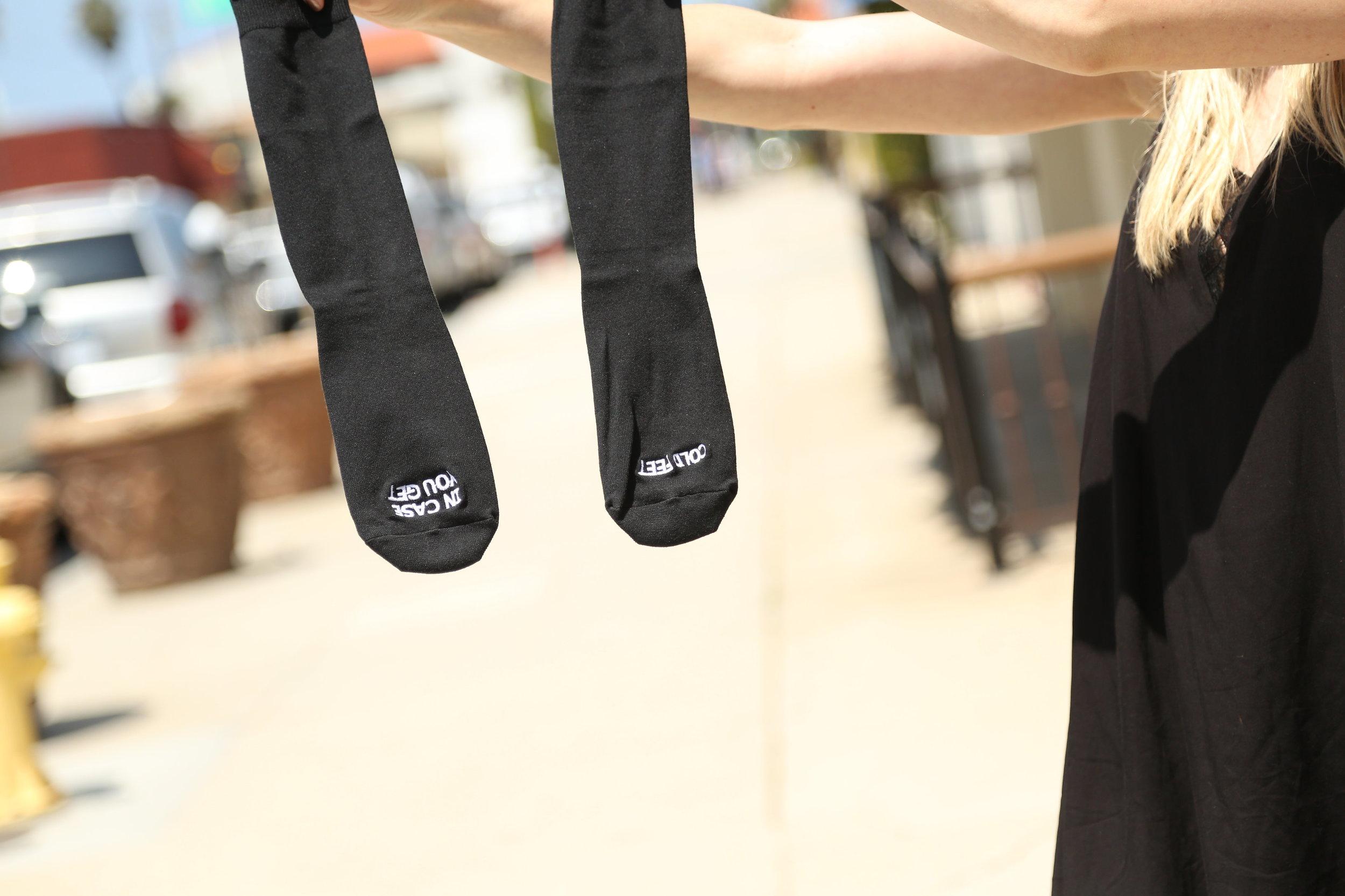 dont get cold feet groom gift socks
