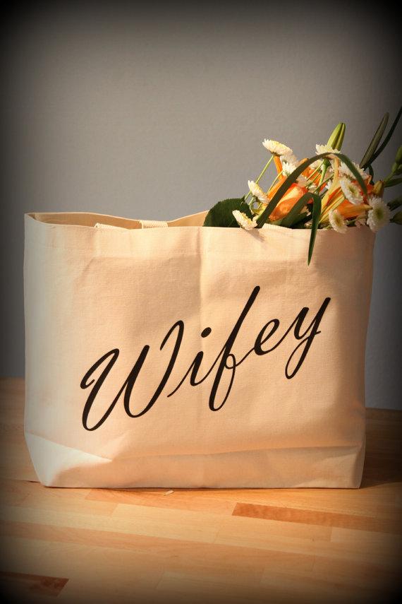 wifey tote honeymoon bag must haves