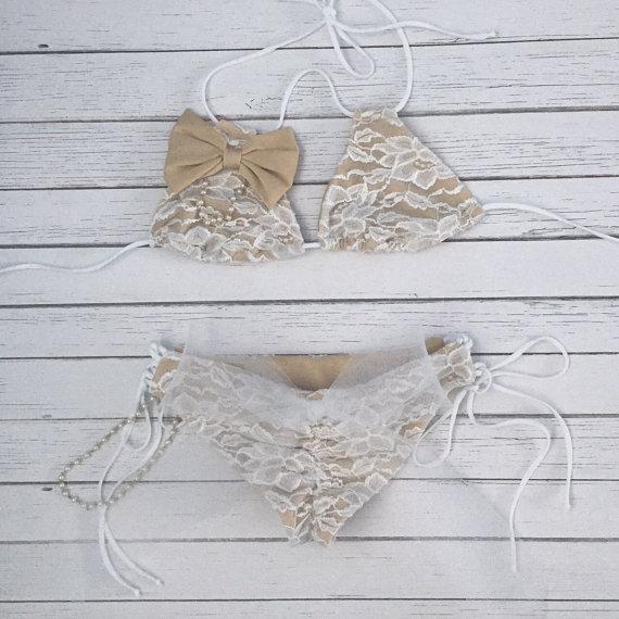 rustic lace bikini honeymoon must haves