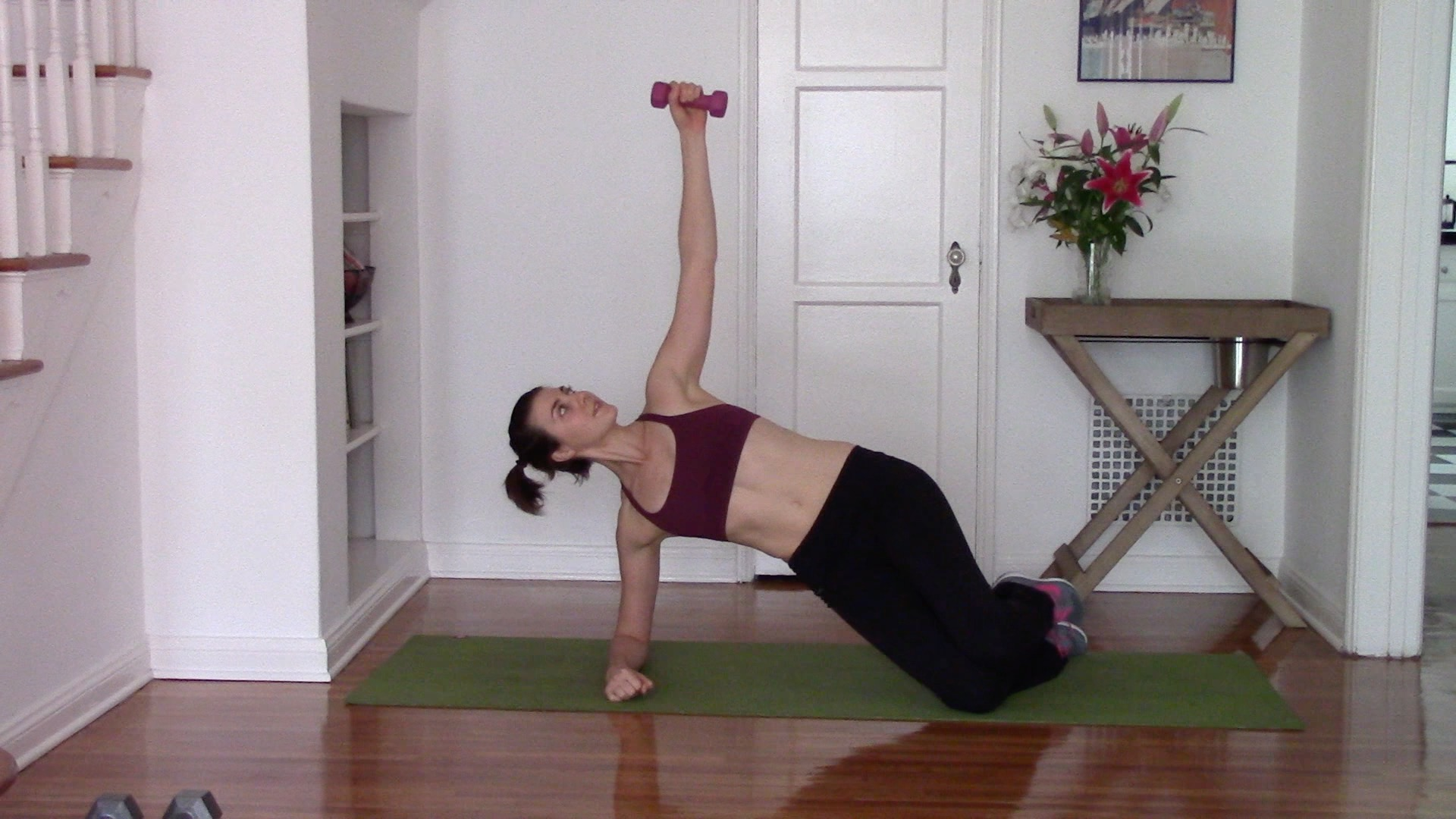 quick at home bridal arm workout