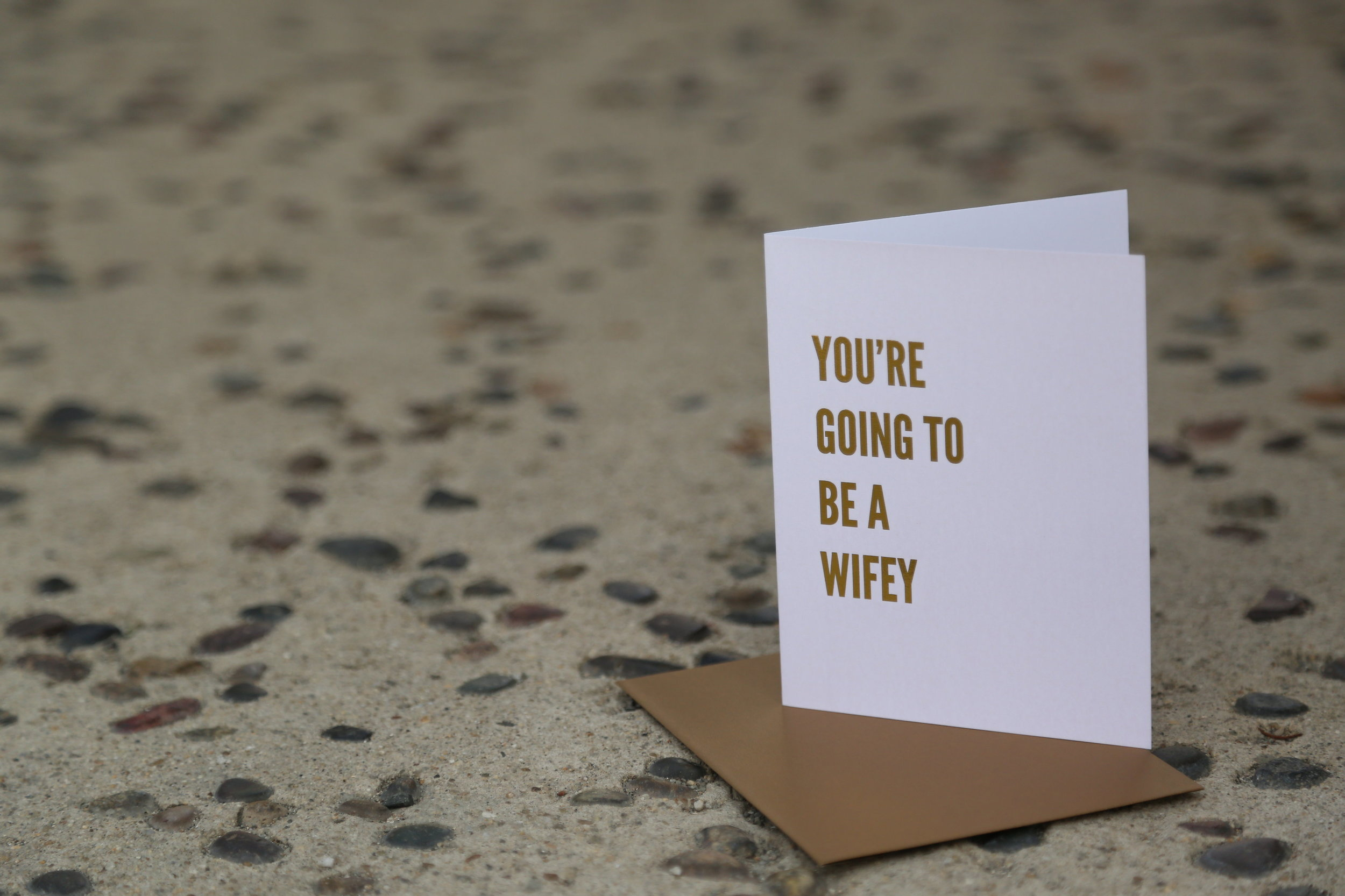 cute wifey bridal shower cards
