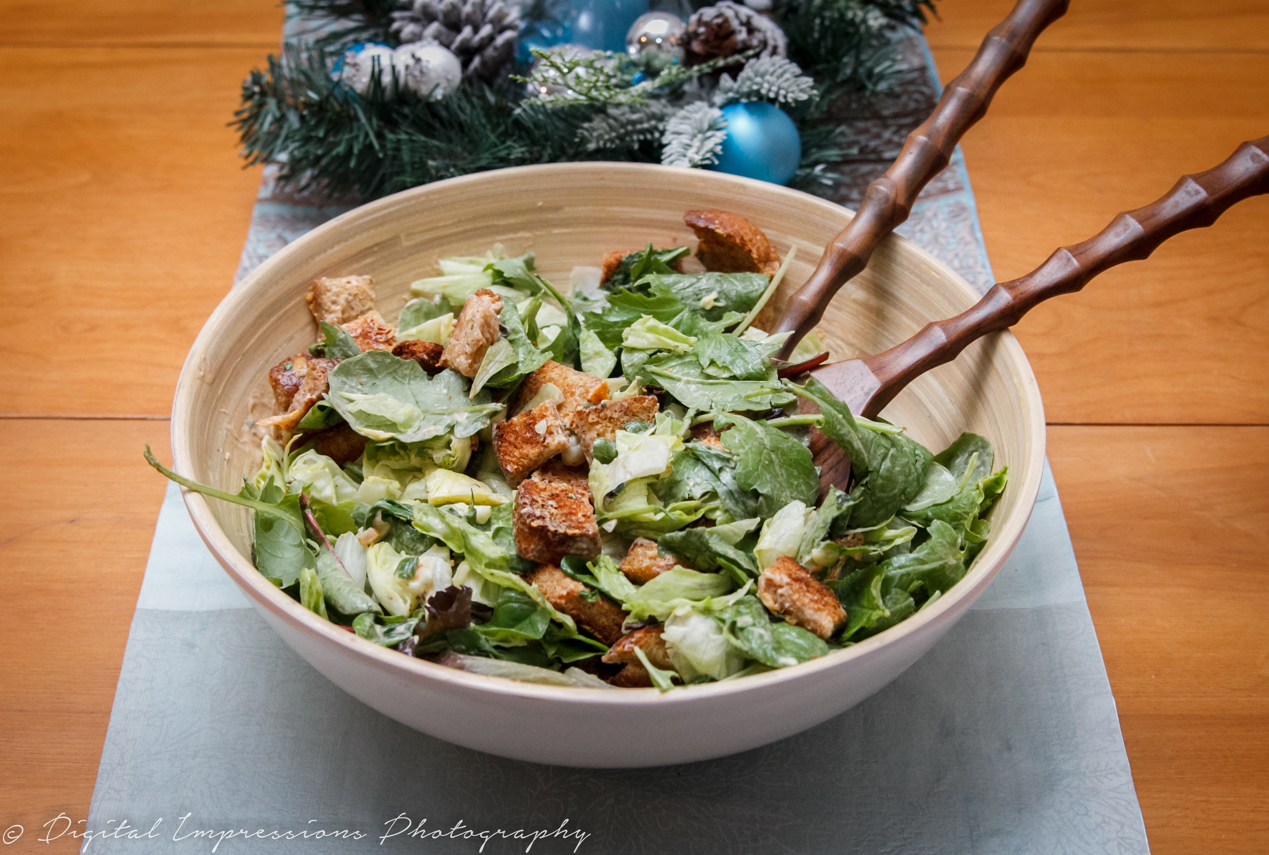 Date Night ideas // Cold Christmas Salad Recipe
