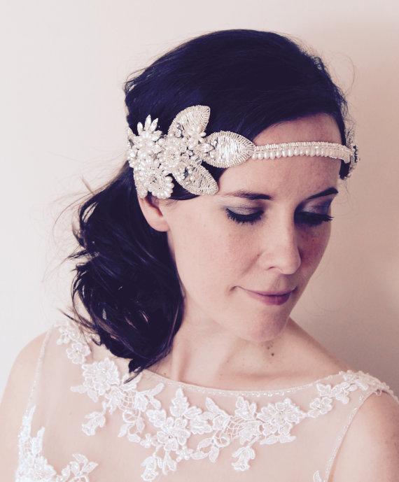Bridal Statement Headpieces + Headbands