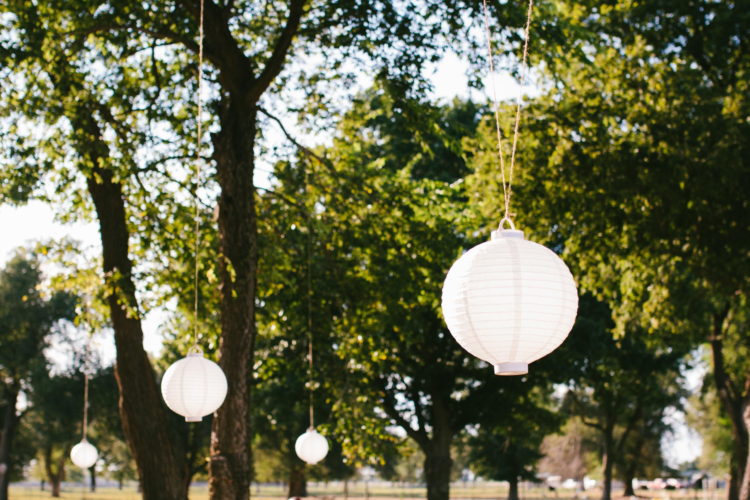 rustic outdoor wedding decor - rustic intimate oklahoma wedding at Darlington Chapel