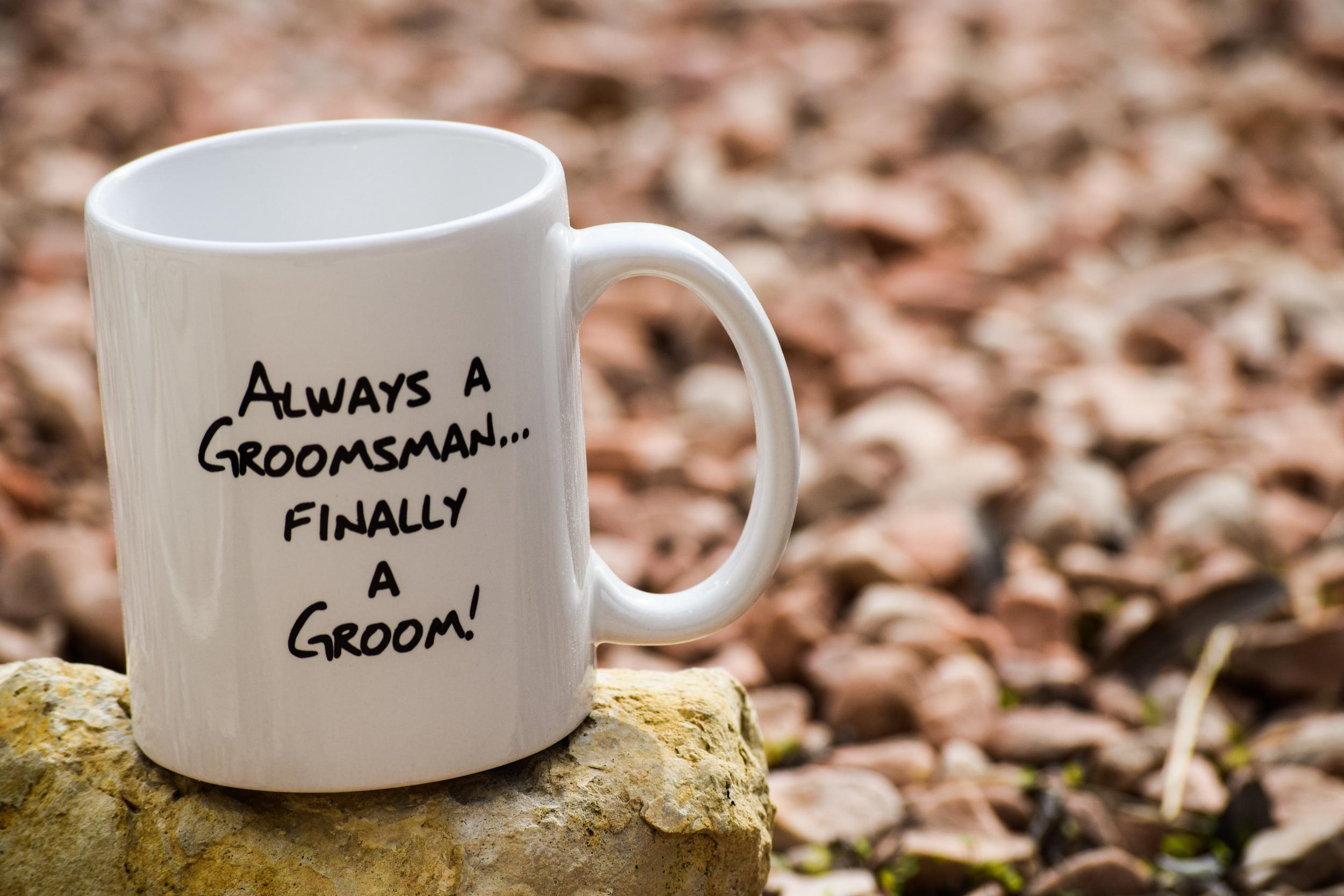 Finally A Groom Coffee Mug by The Chic Factory